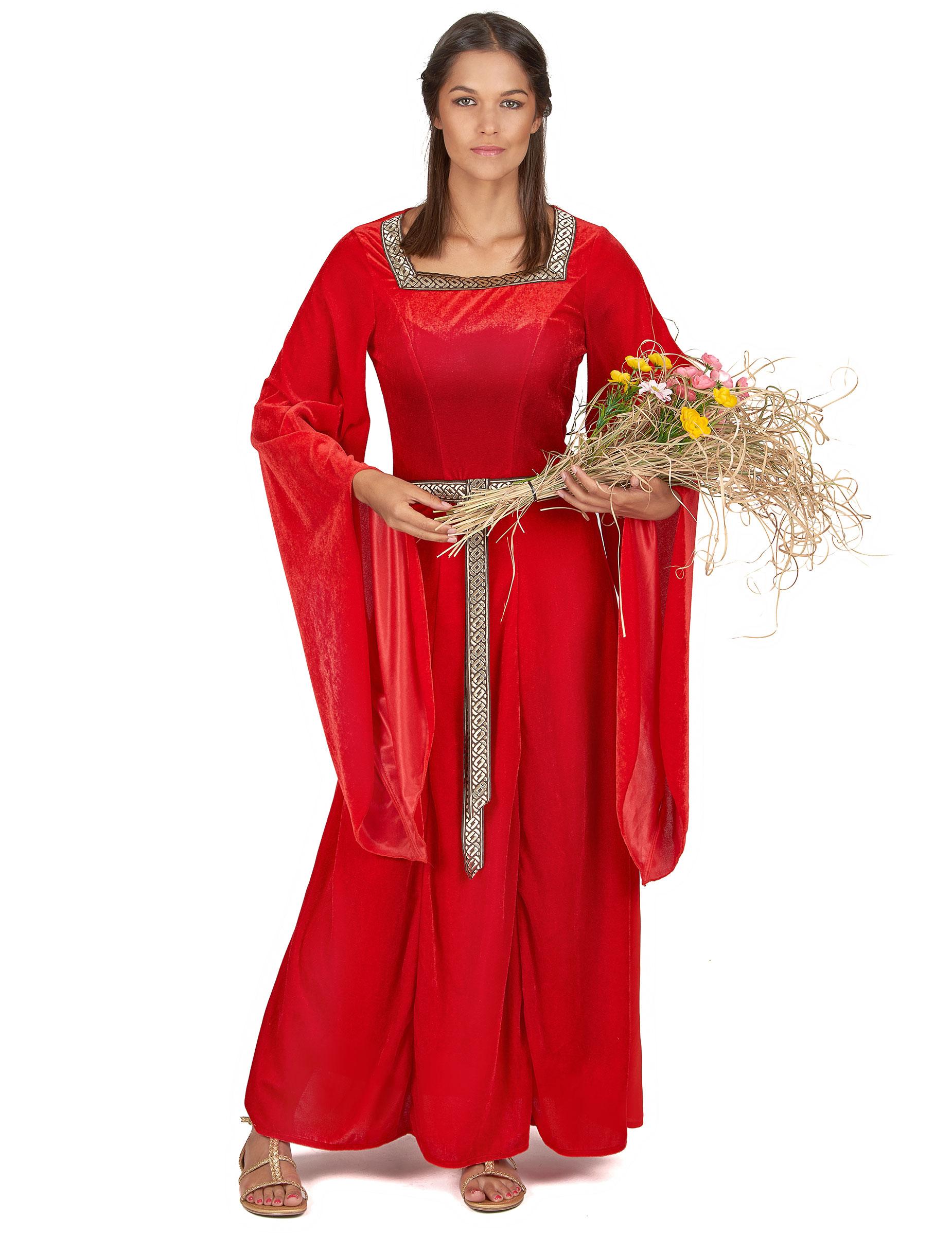 Disfraz mujer medieval disfraces adultos y disfraces - Trajes de carnaval de epoca ...