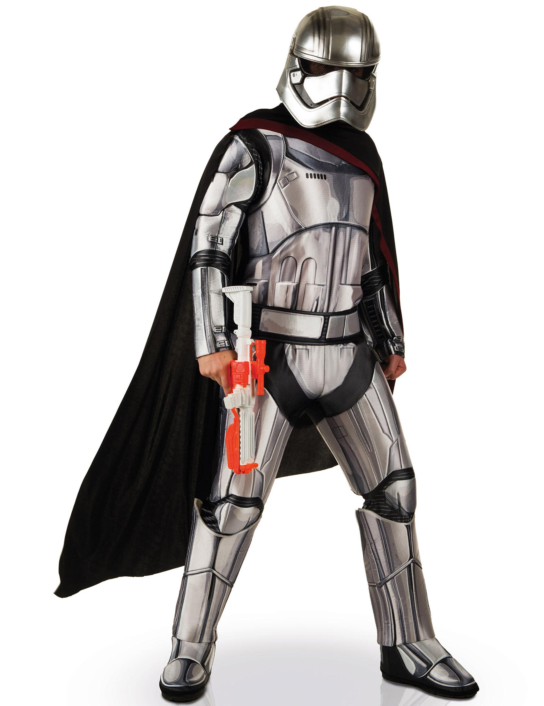 Disfraz adulto Deluxe Capitán Phasma Star Wars VII™ 478f69b4477
