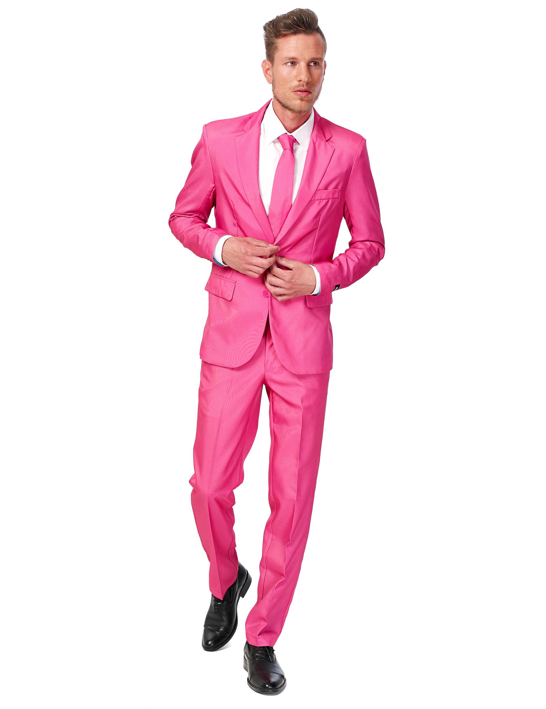 Traje rosa hombre Suitmeister™: Disfraces adultos,y disfraces ...