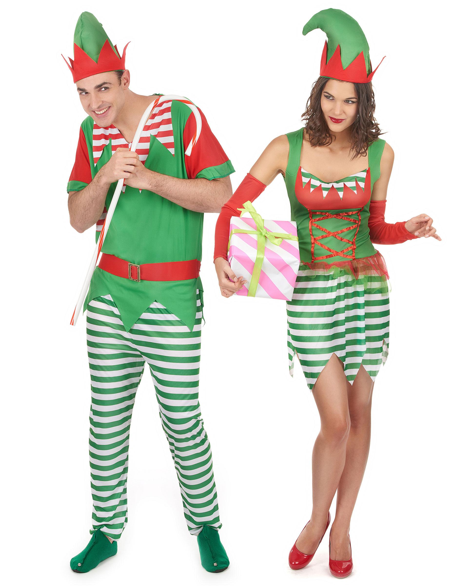 Disfraz pareja elfo navidad adulto disfraces parejas y - Disfraces para navidad ...