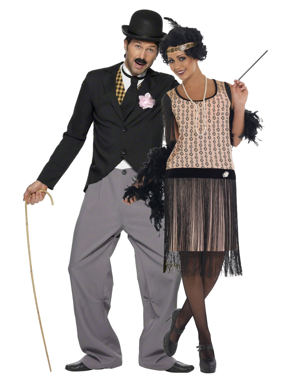 disfraz pareja charlest n disfraces parejas y disfraces originales baratos vegaoo. Black Bedroom Furniture Sets. Home Design Ideas