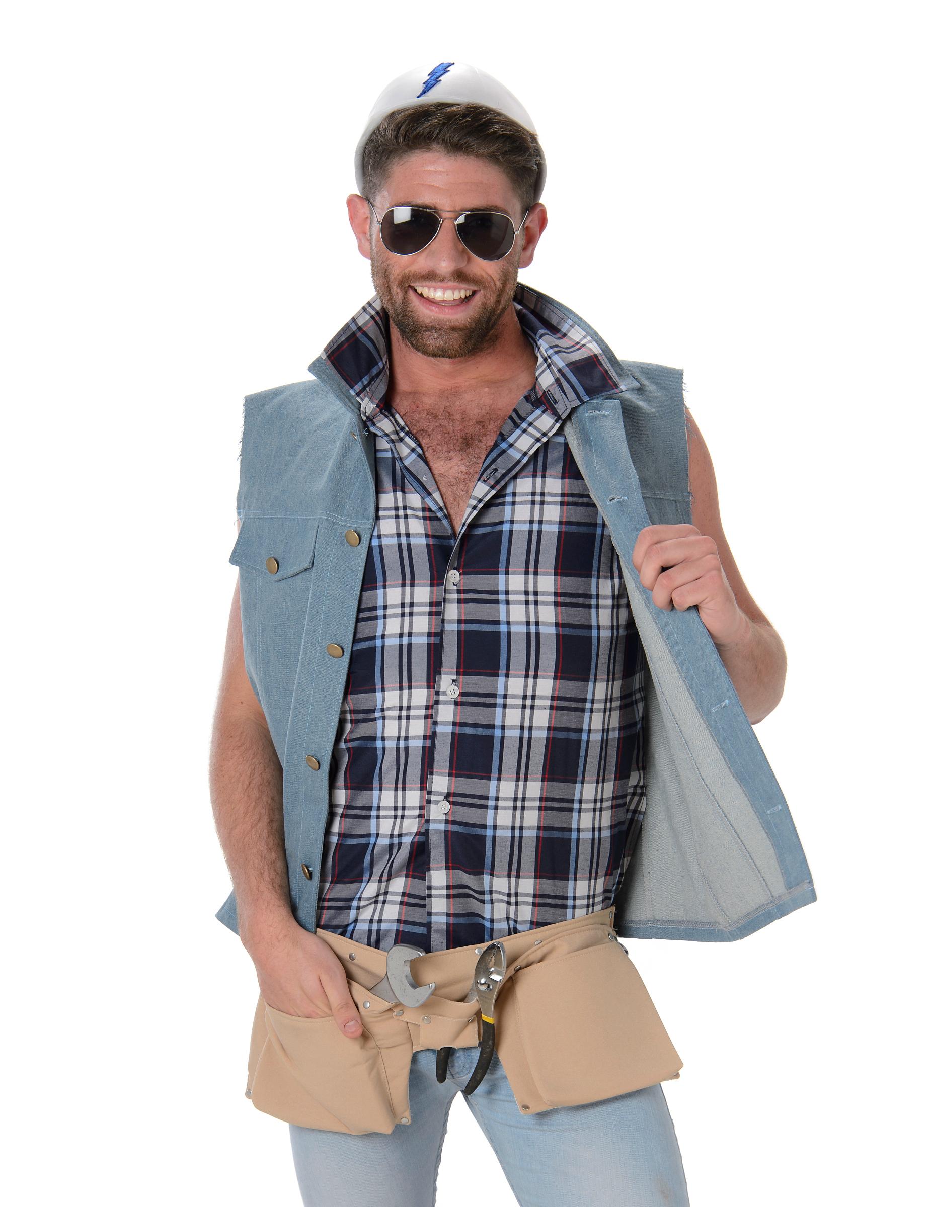 Albañiles Gay disfraz de albañil hombre
