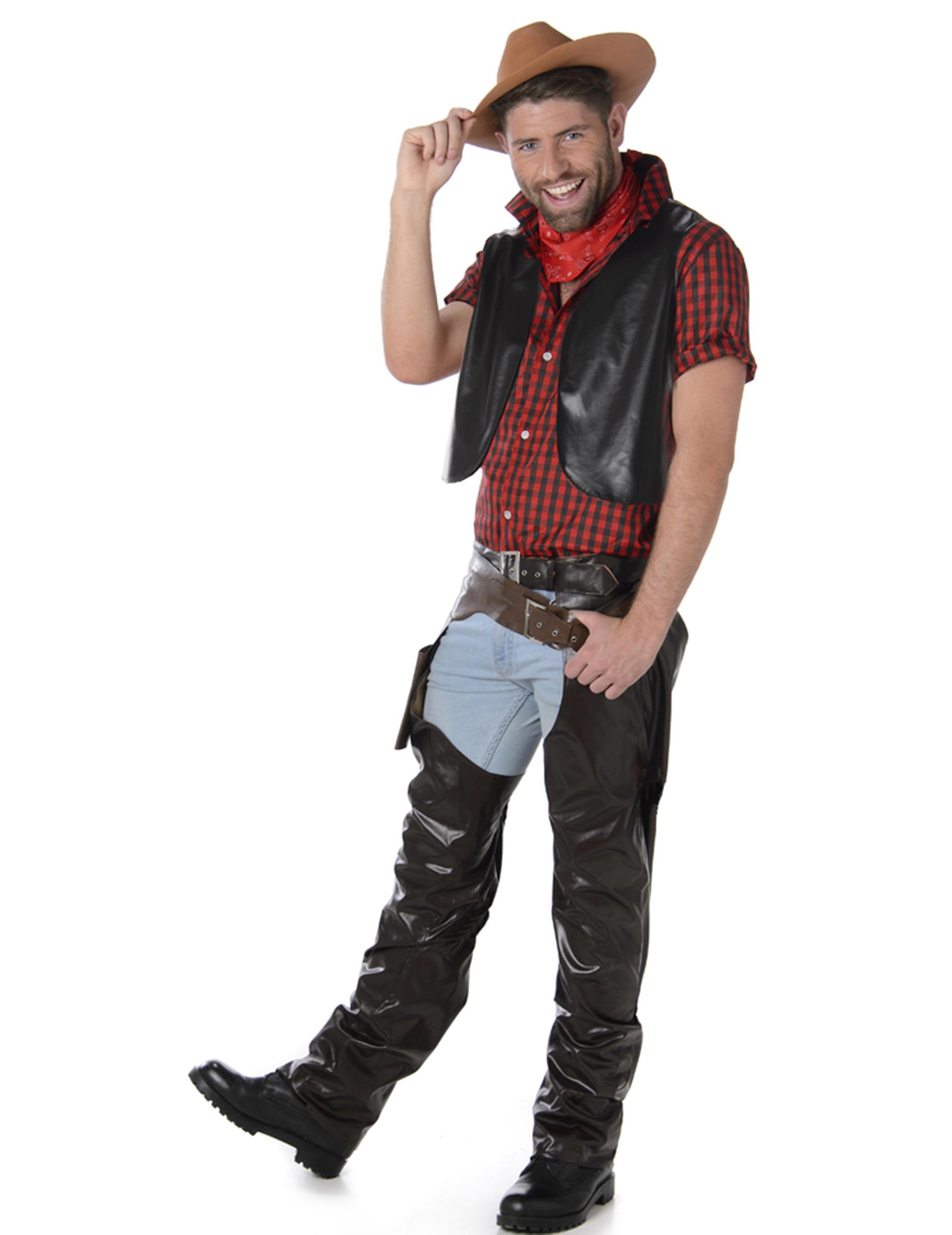 bf50262a3 Disfraz de vaquero hombre  Disfraces adultos