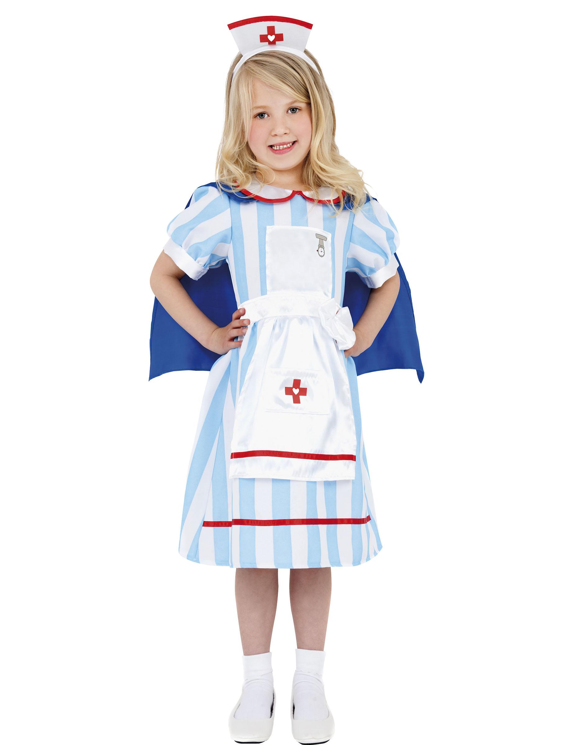 disfraz enfermera vintage nia