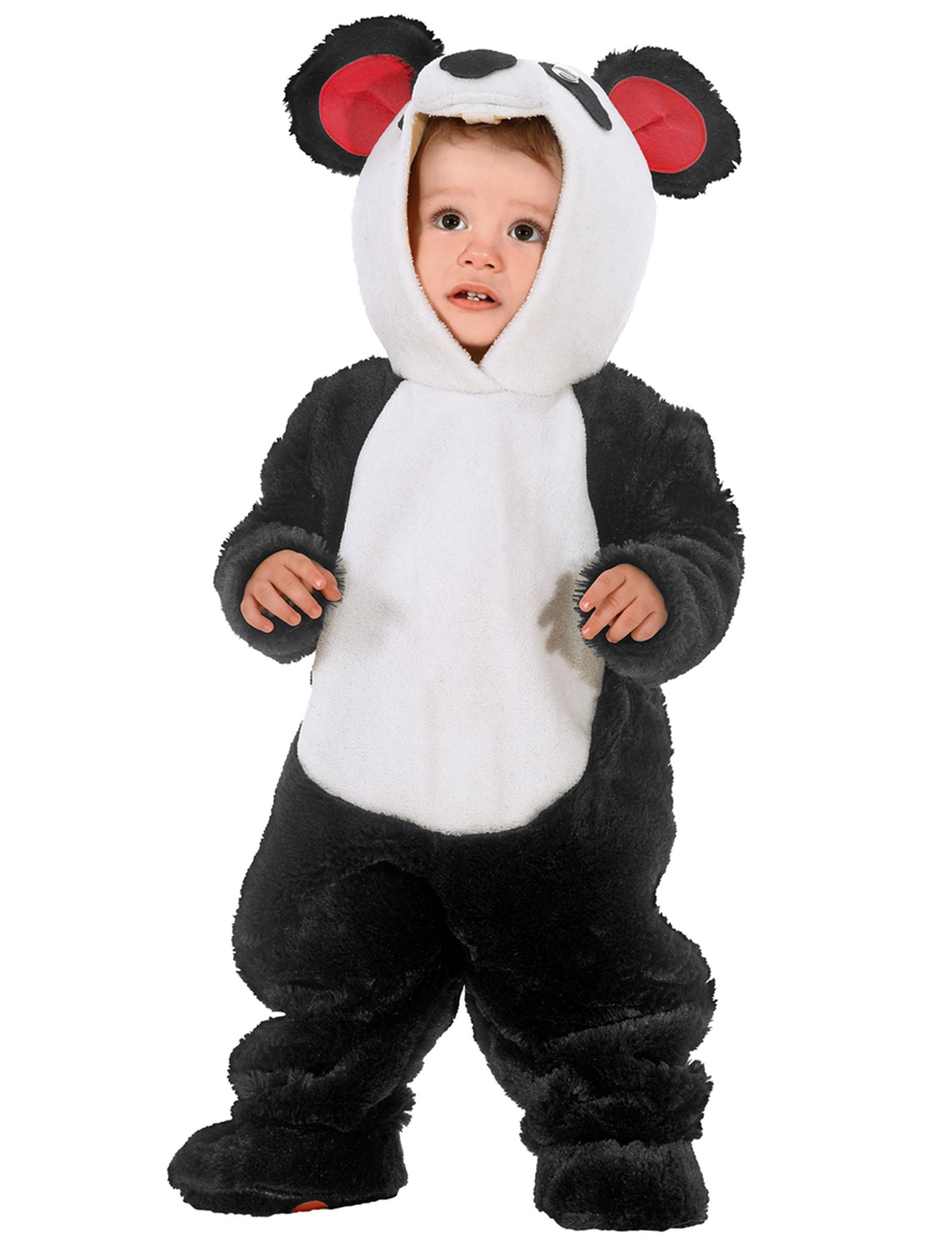 disfraz de oso panda beb disfraces ni os y disfraces. Black Bedroom Furniture Sets. Home Design Ideas