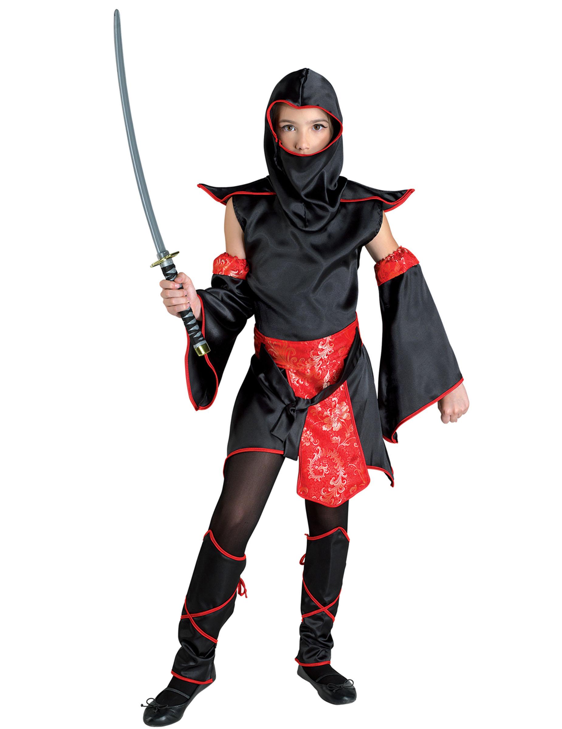 Disfraces Disfraces-adultos-todos - Disfraz de ninja negro
