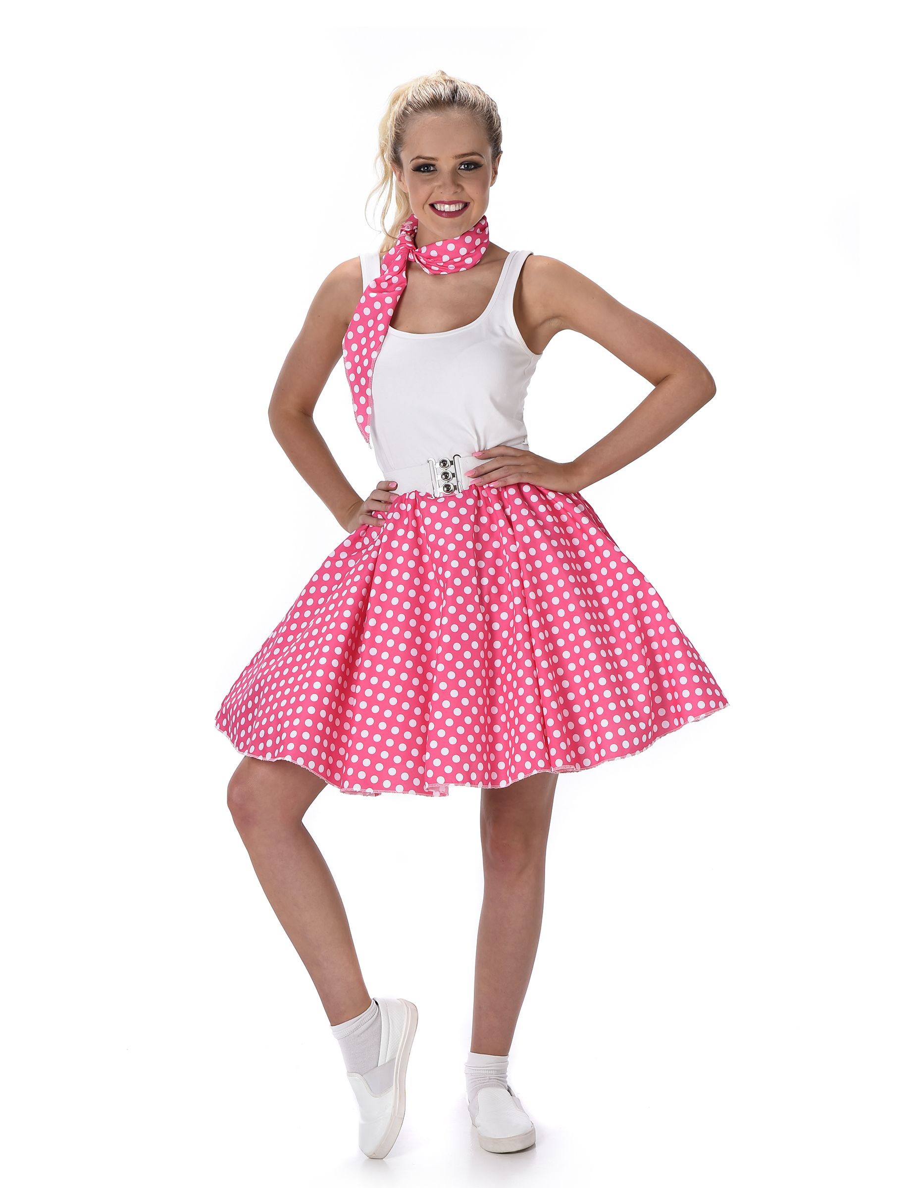 Disfraz años 50 rosa mujer: Disfraces adultos,y disfraces originales ...