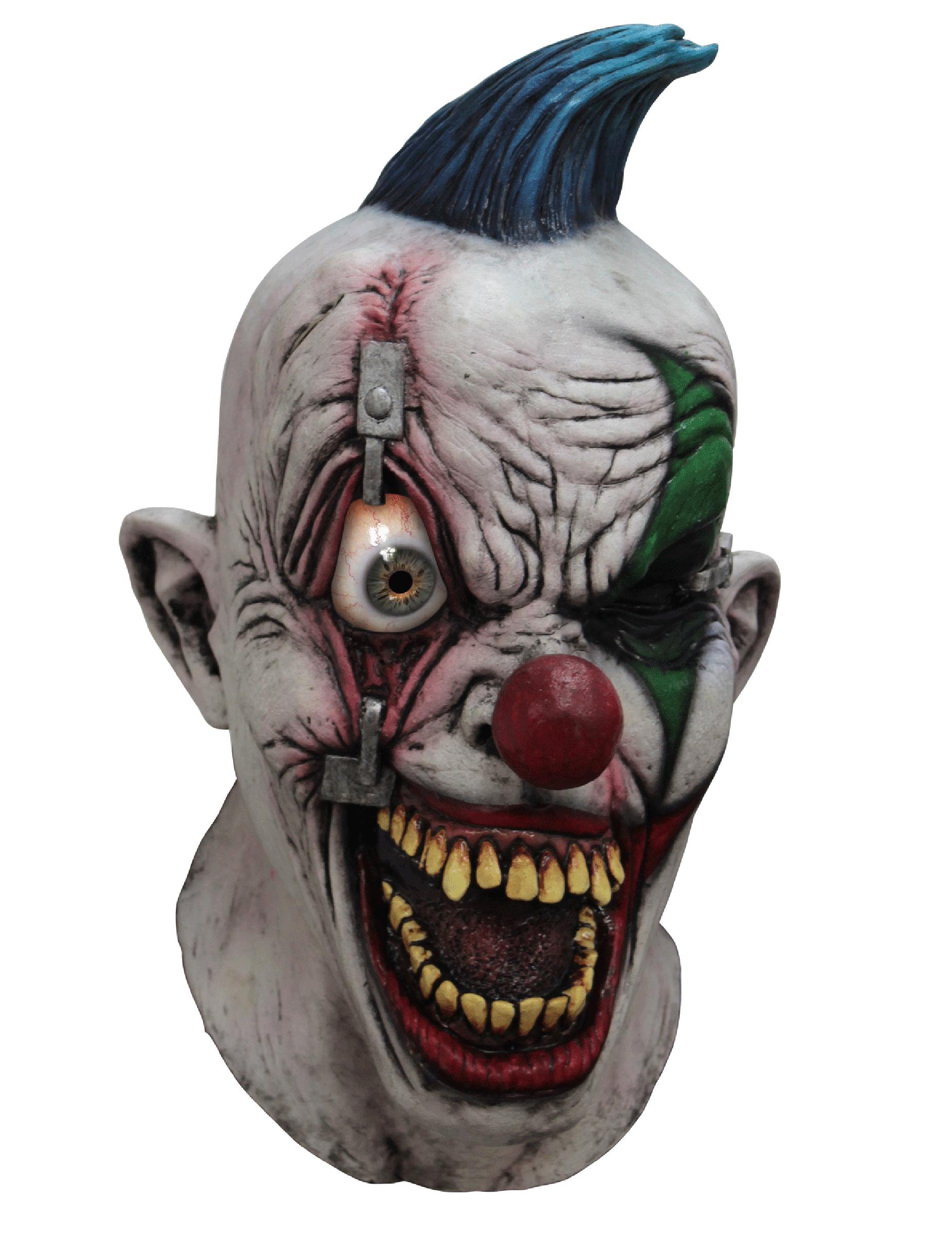 M scara de payaso integral animada adulto smartphone m scaras y disfraces originales baratos - Masque halloween qui fait peur ...