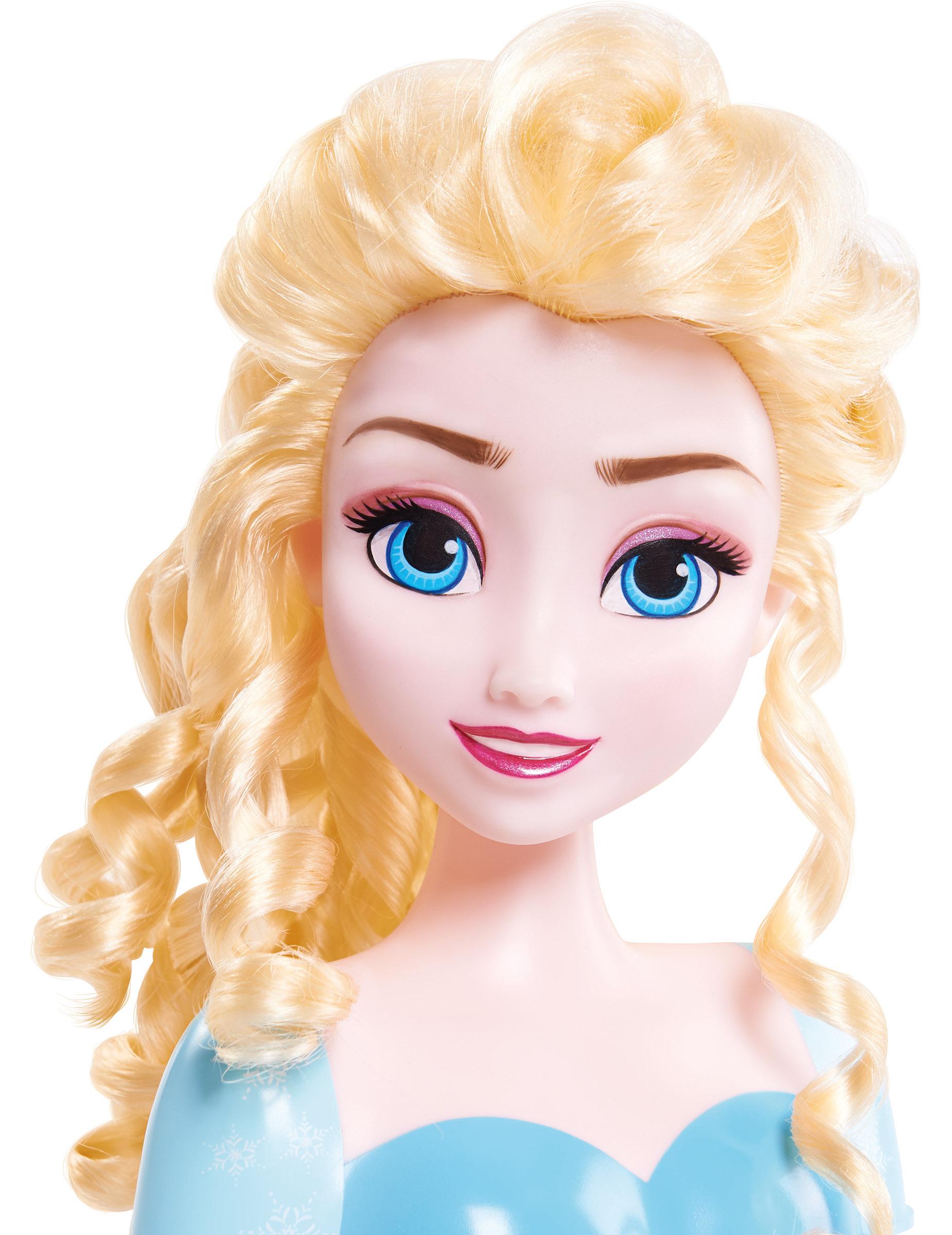 Muñeca Para Peinar Elsa Frozen Accesoriosy Disfraces Originales