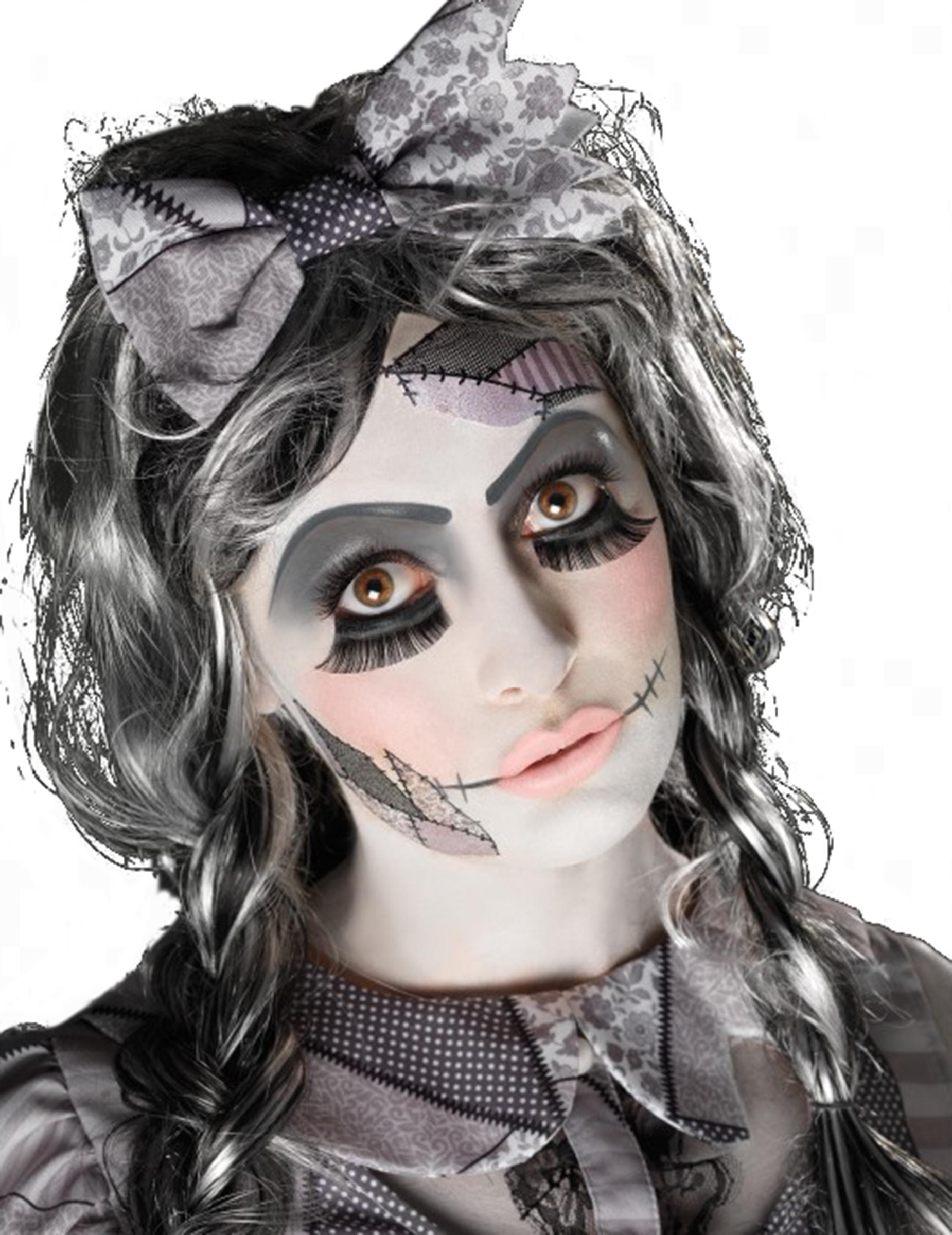 Kit de maquillaje mueca adulto Halloween Maquillaje y disfraces