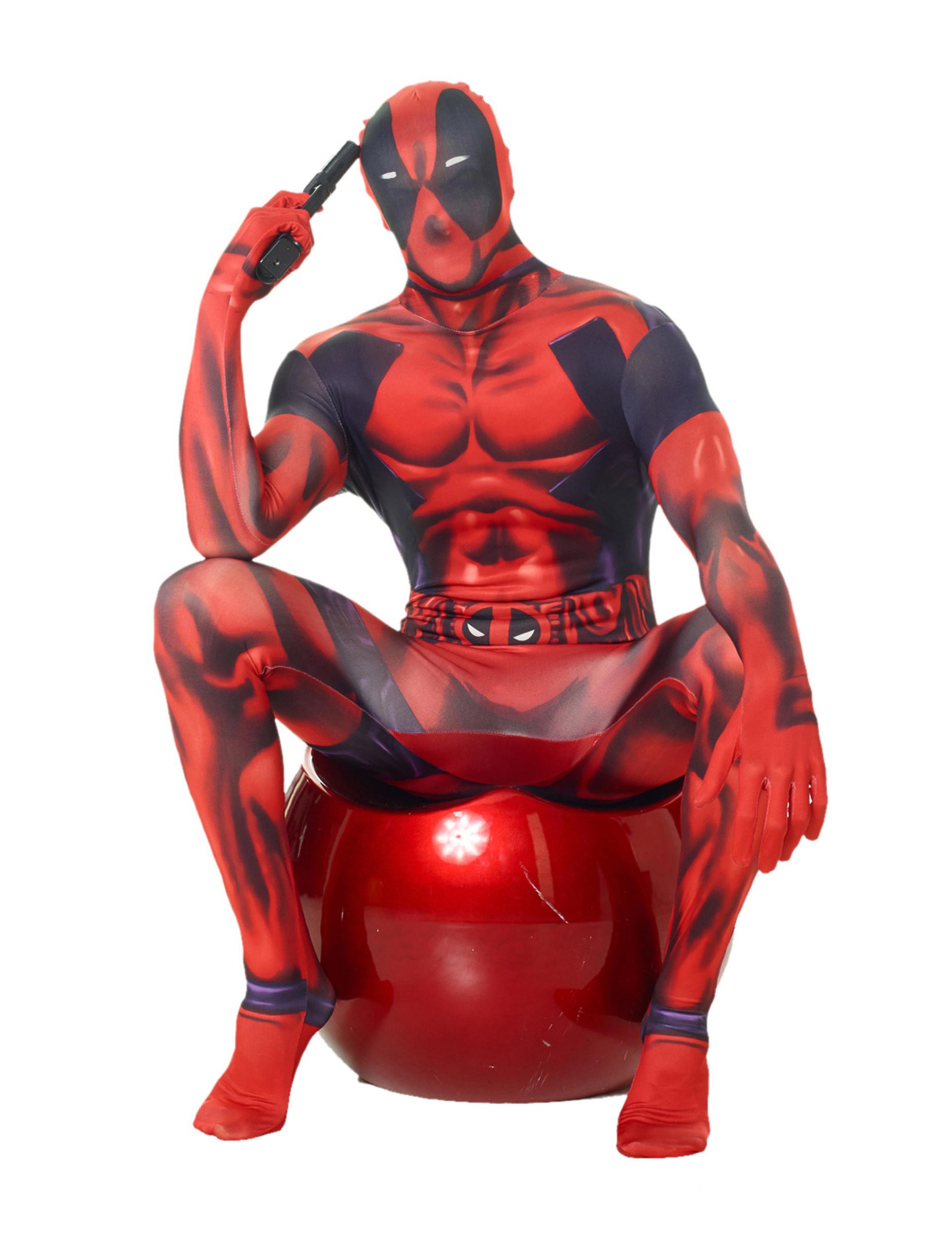 Disfraz Morphsuits Deadpool Clásico Adulto Disfraces Adultos Y Disfraces Originales Baratos Vegaoo