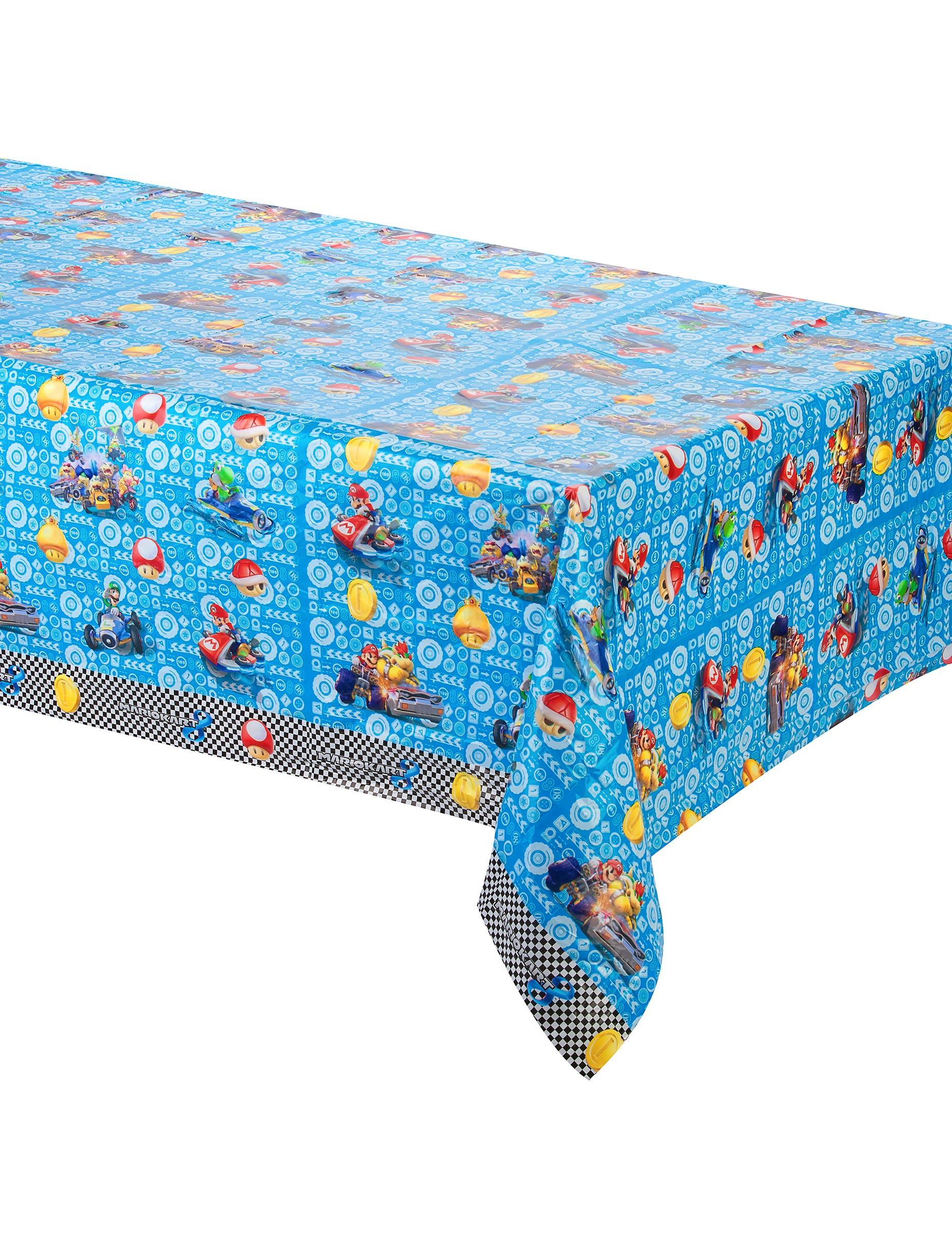 Mantel de pl stico super mario 138x183 cm decoraci n y disfraces originales baratos vegaoo - Mantel plastico ...