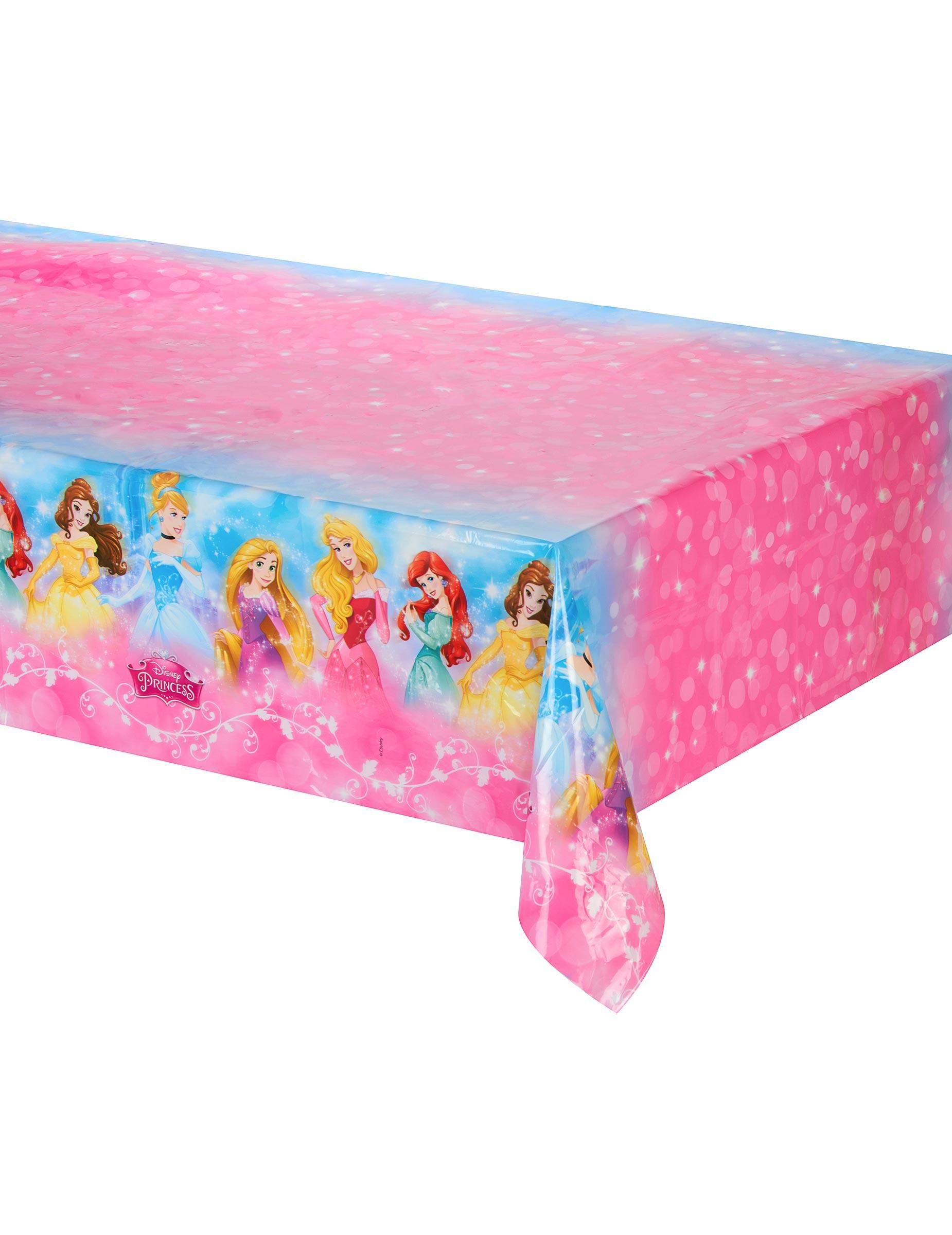 Mantel de pl stico princesas disney 120 x 180 cm decoraci n y disfraces originales baratos - Mantel plastico ...