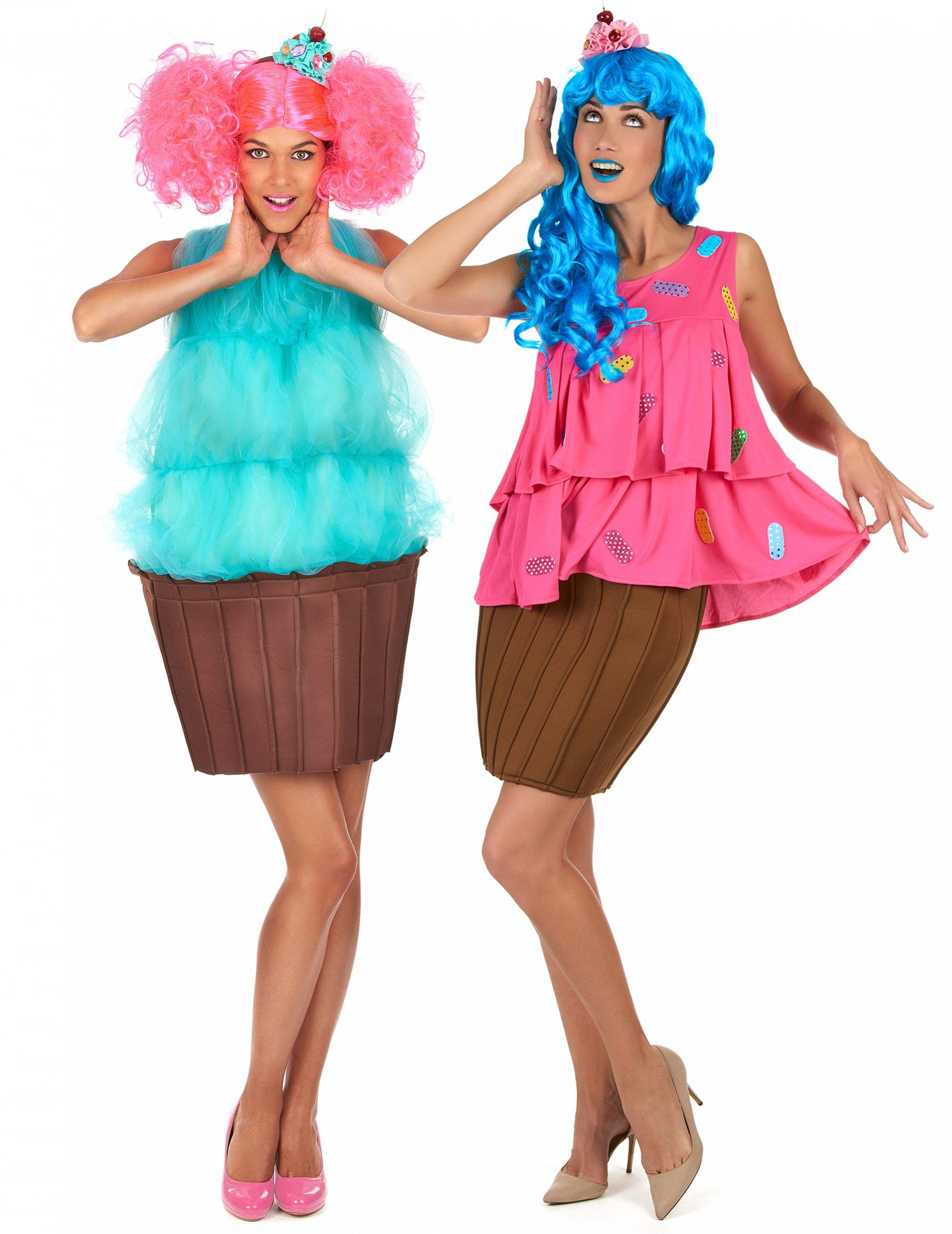 Disfraz de pareja cupcake fantasía mujer  Disfraces parejas daade664927