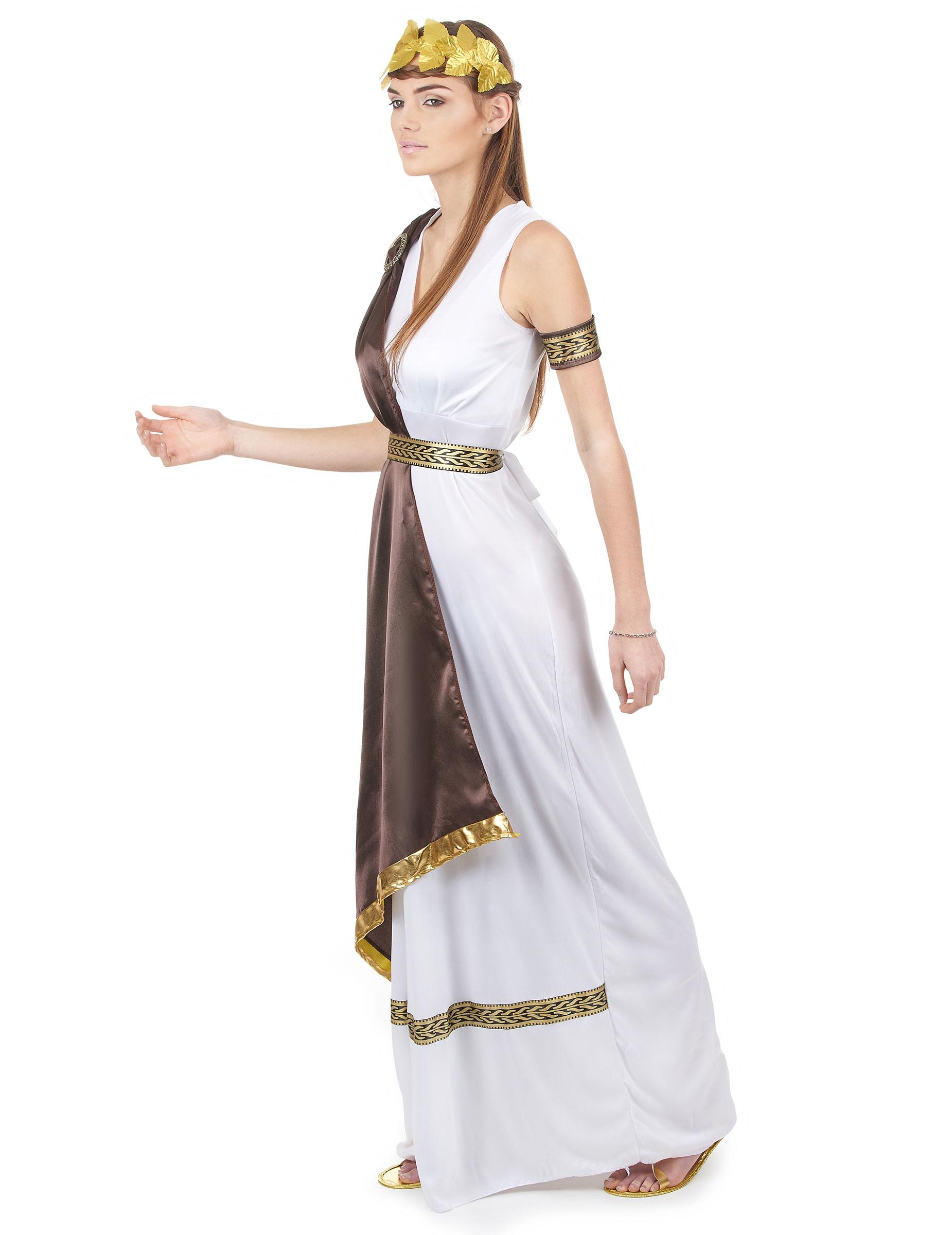 cd8b5537e Disfraz de pareja romana marrón adulto