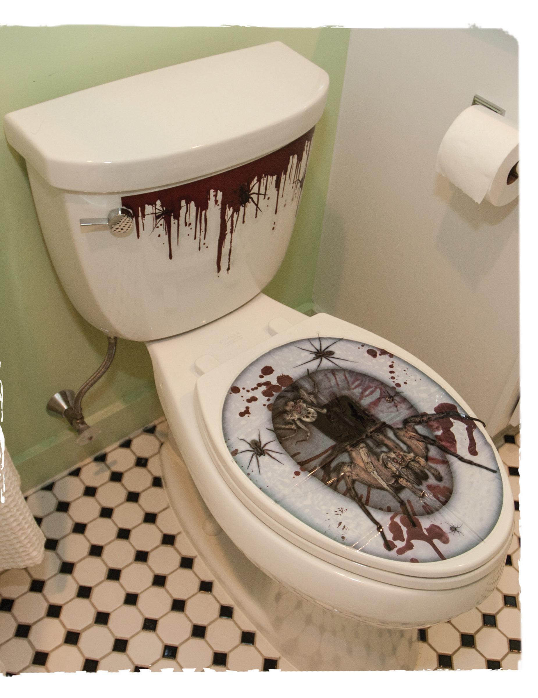 Pegatinas ba o wc halloween decoraci n y disfraces - Pegatinas para bano ...