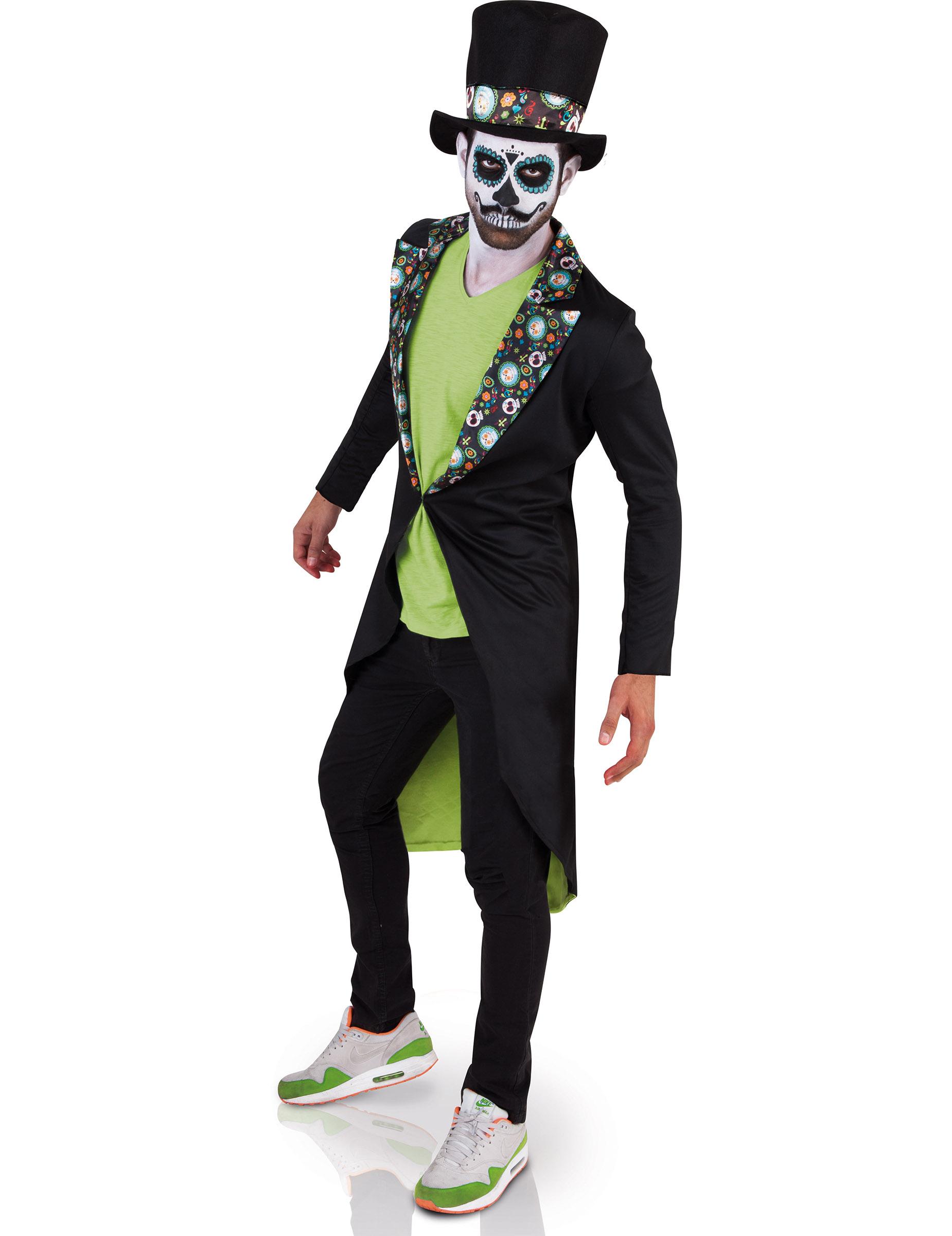 disfraz da de los muertos hombre halloween