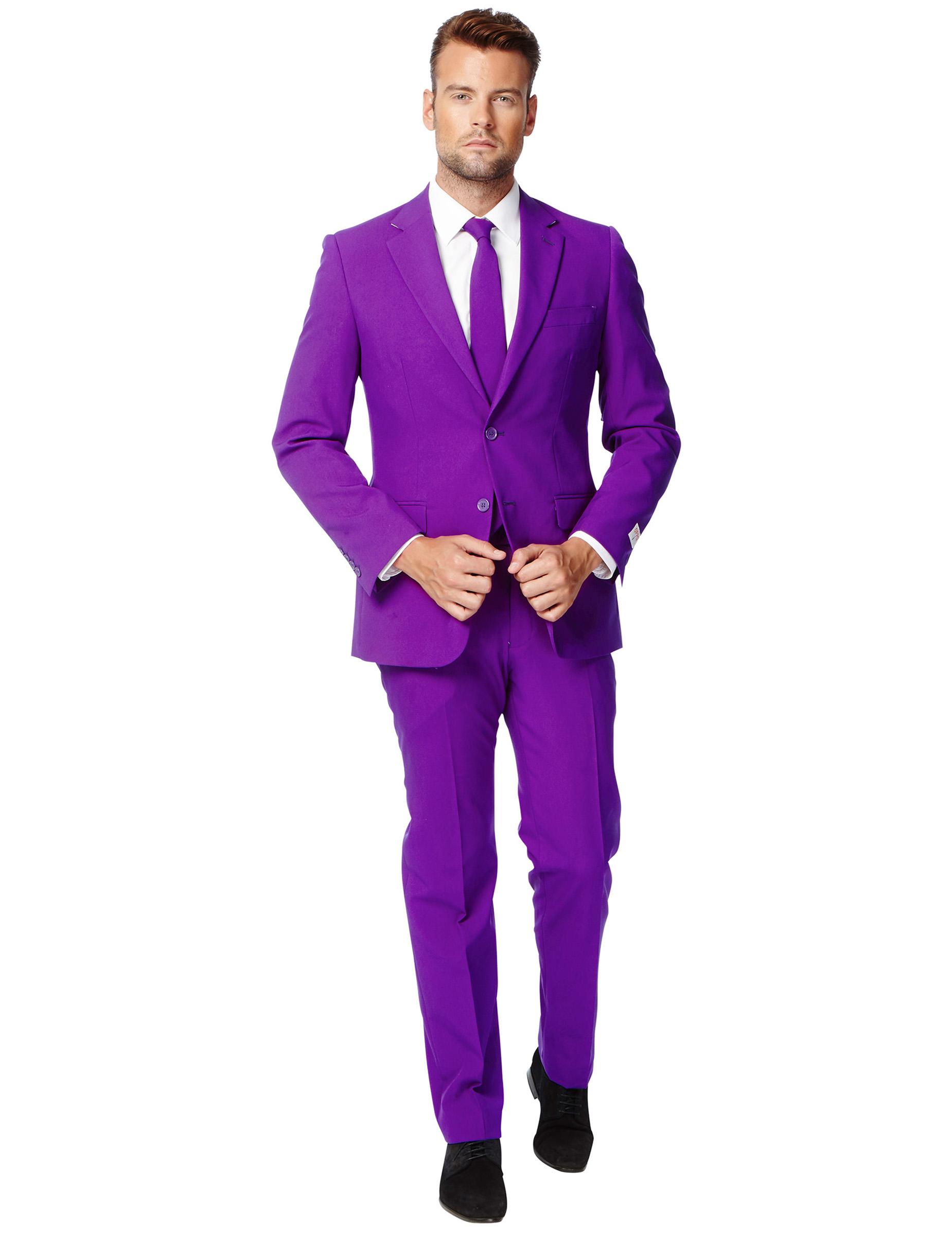 Traje Mr. Violeta hombre Opposuits™: Disfraces adultos,y disfraces ...
