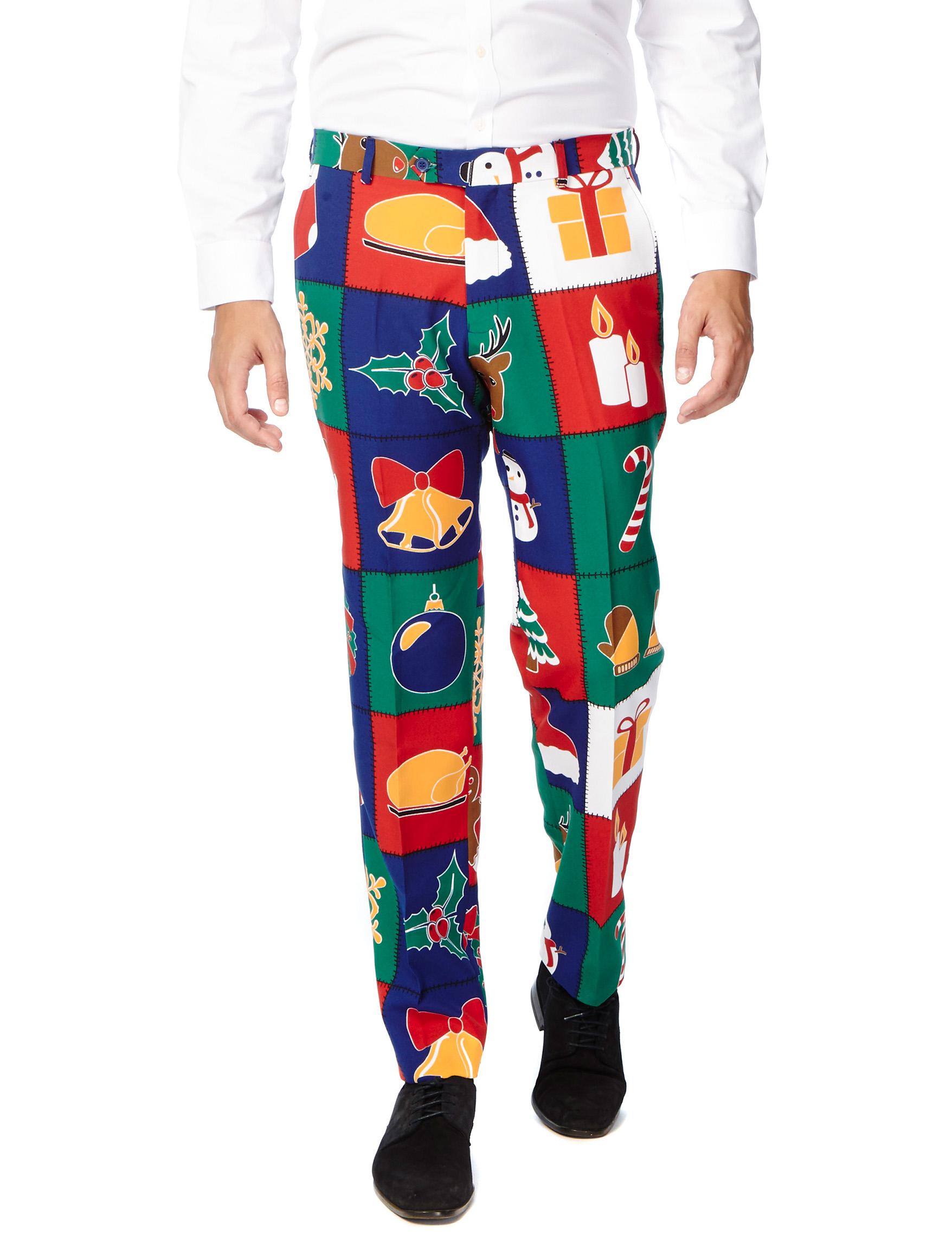 traje piezas navidad hombre opposuits