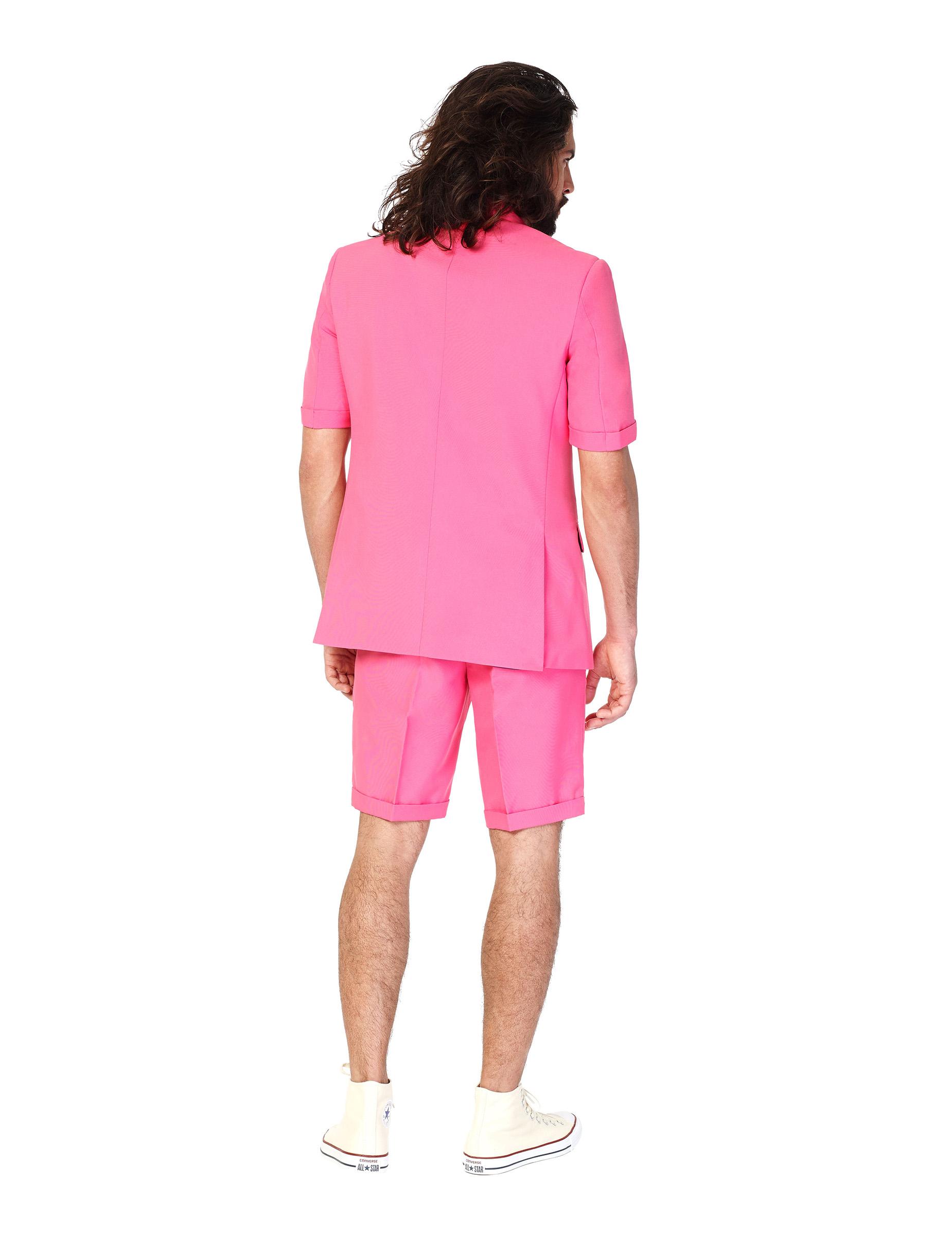 Traje de verano Mr Pink hombre Opposuits™: Disfraces adultos,y ...