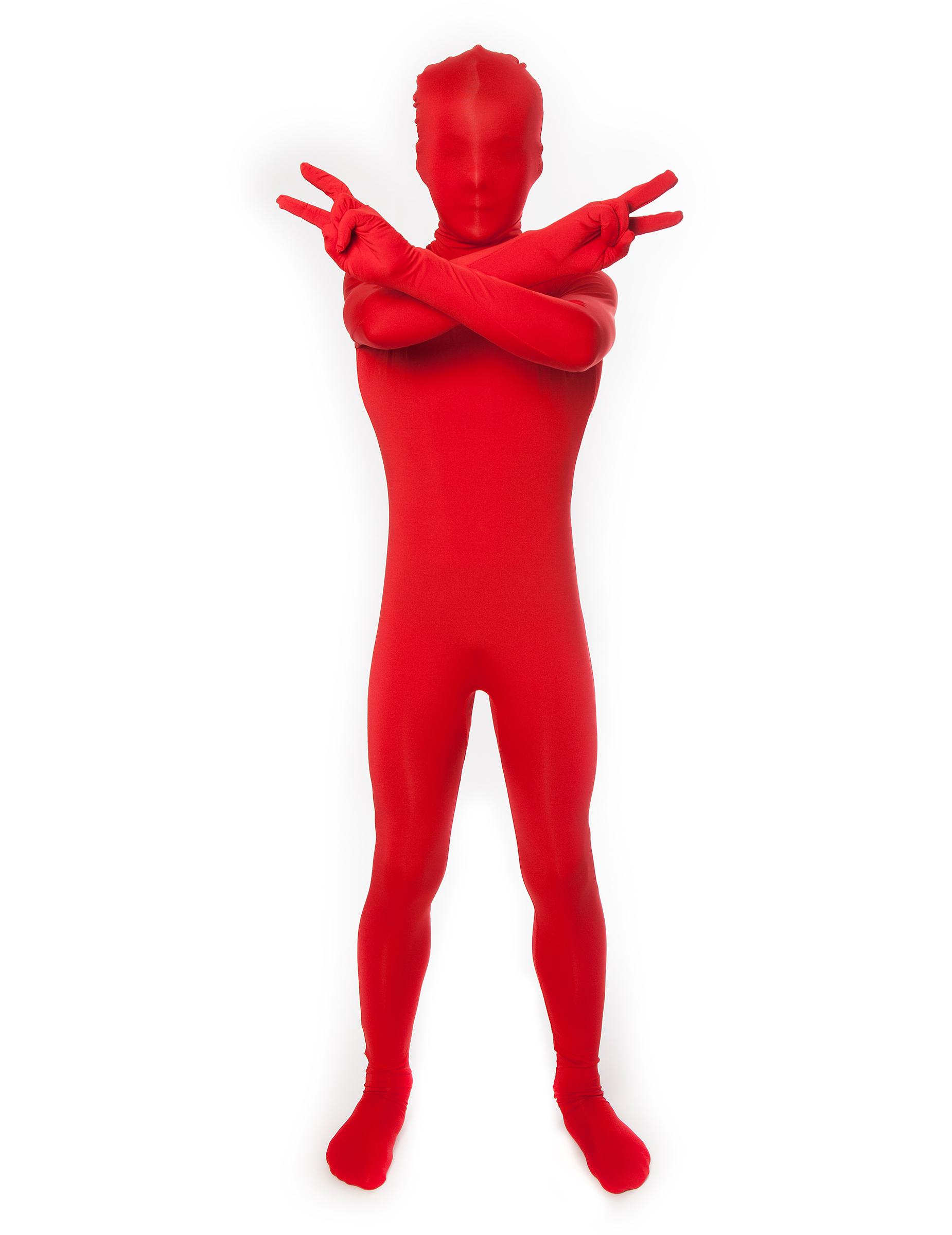 Disfraz rojo Morphsuits™ niño  Disfraces niños da7966bde54