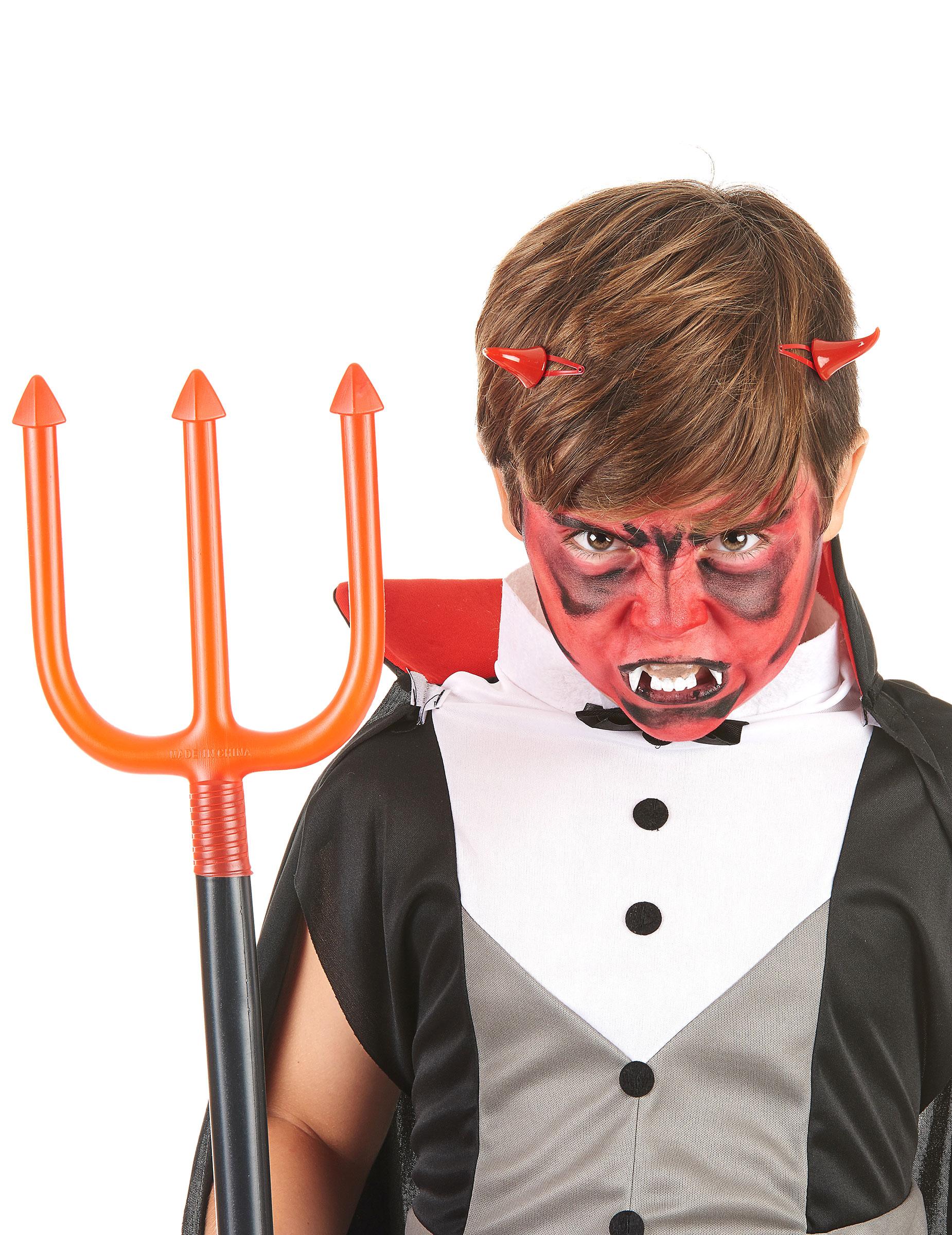 kit de maquillaje demonio nio halloween 1 - Maquillaje Demonio