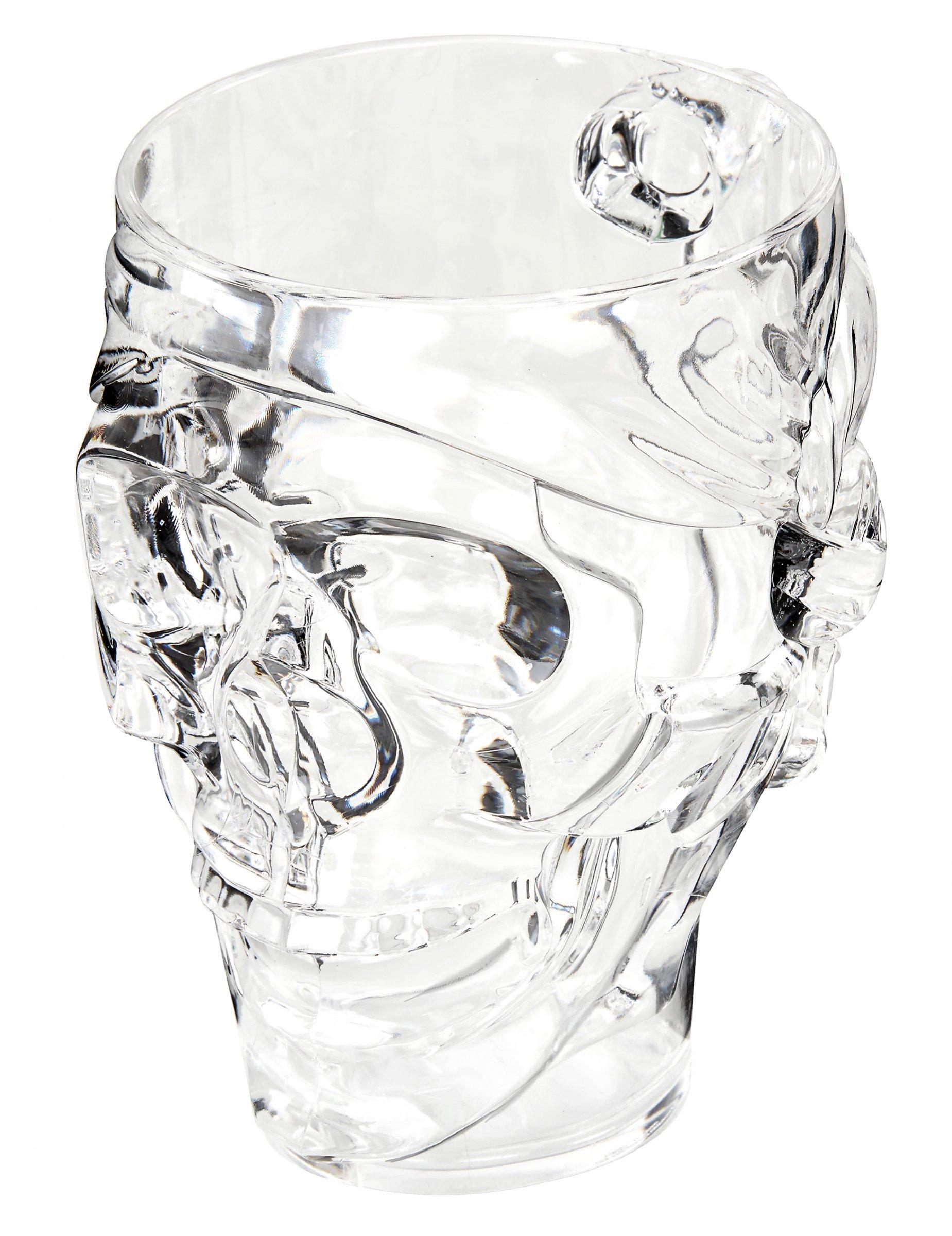 Vaso pinta esqueleto 16 cm