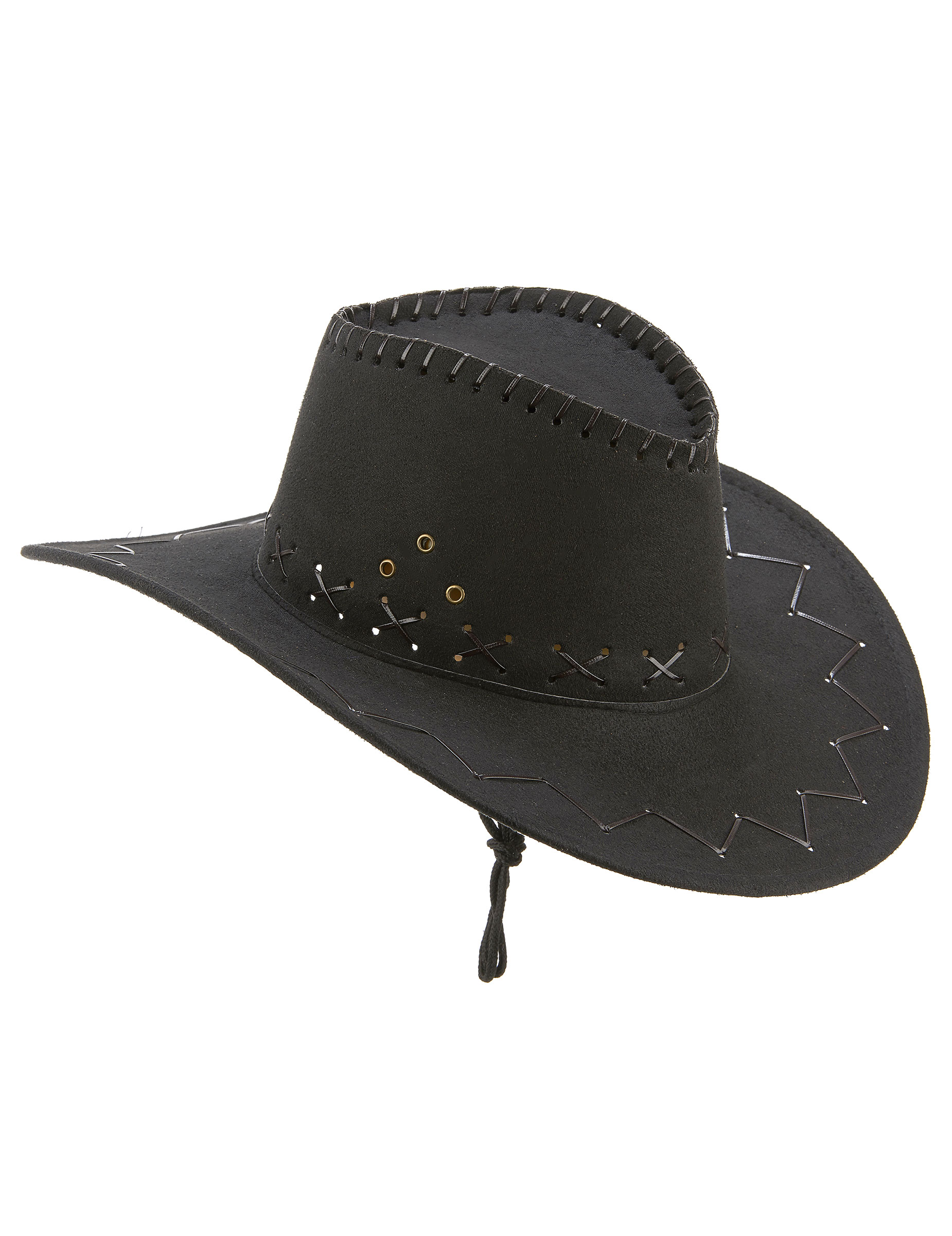 Sombrero vaquero negro adulto  Sombreros 092a23e7d8b