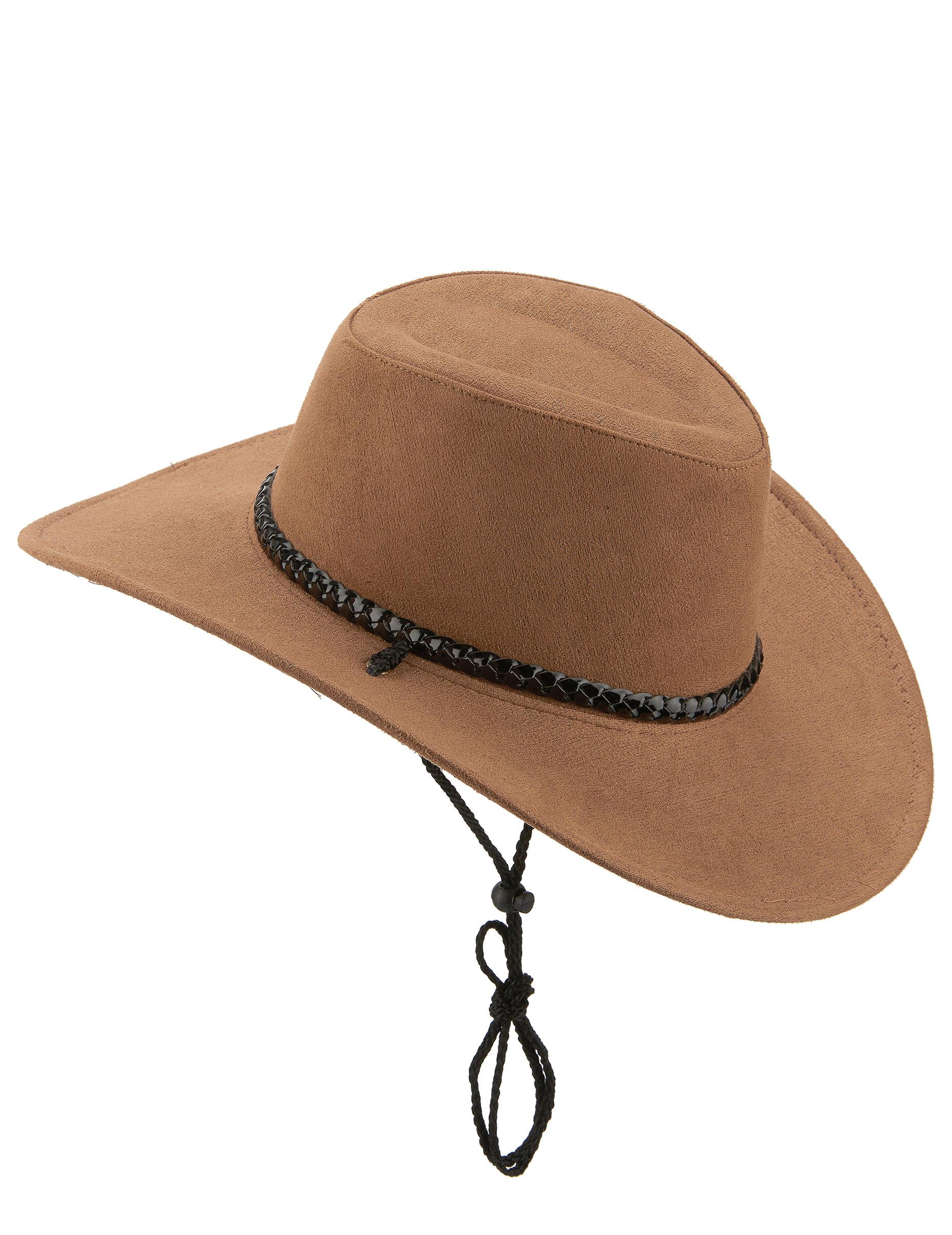 Sombrero vaquero marrón adulto  Sombreros 6b7e861d91e