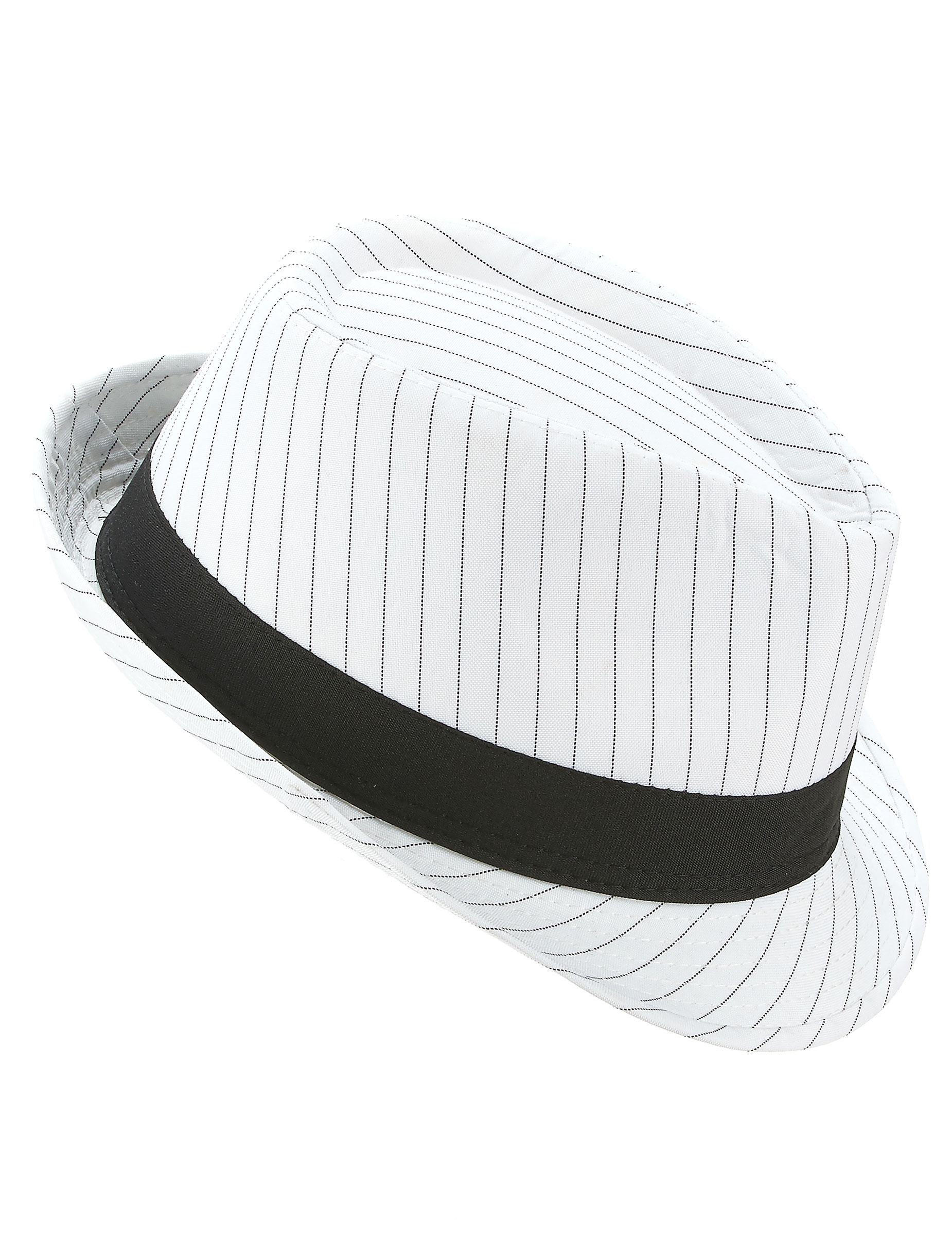 Sombrero borsalino blanco con rayas negras  Sombreros 6070cc5cee56