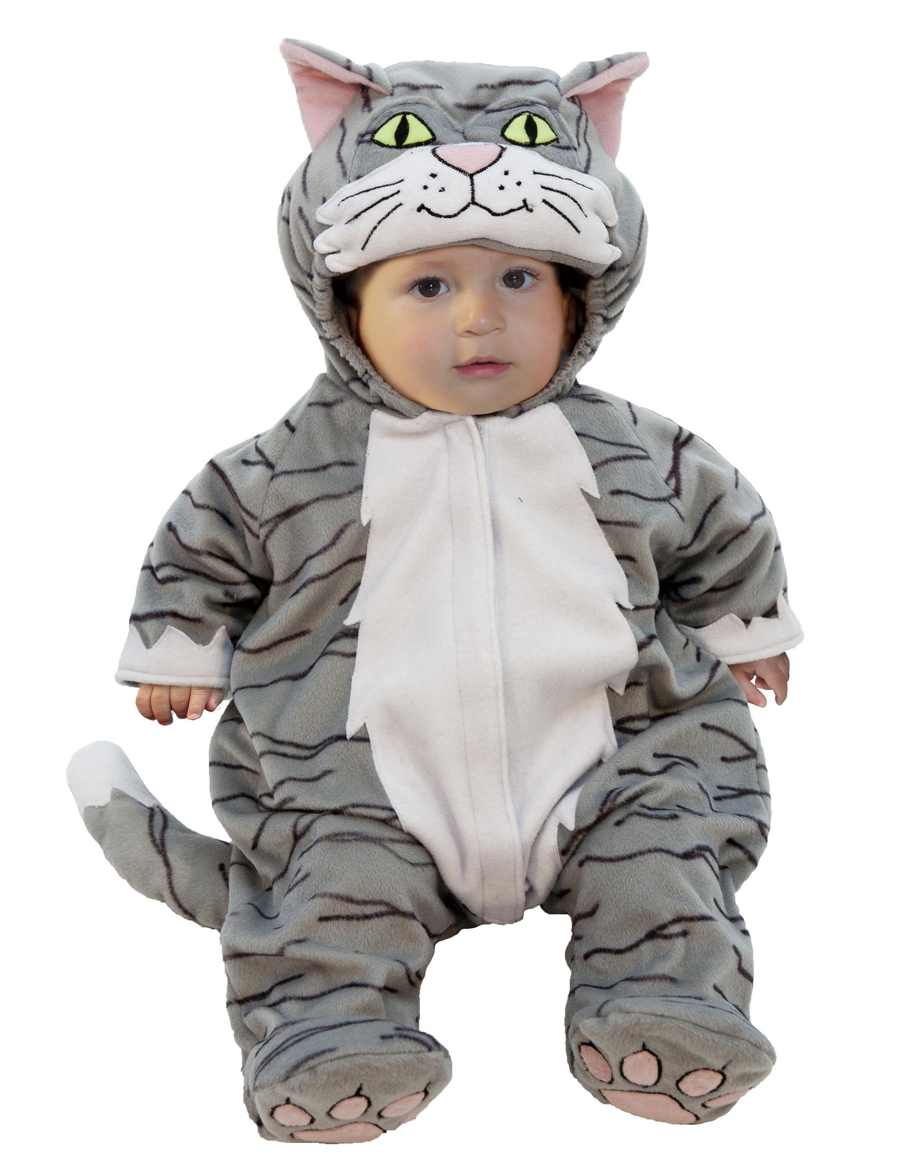 Disfraz de gato deluxe beb disfraces ni os y disfraces - Disfraces de gatos para ninos ...