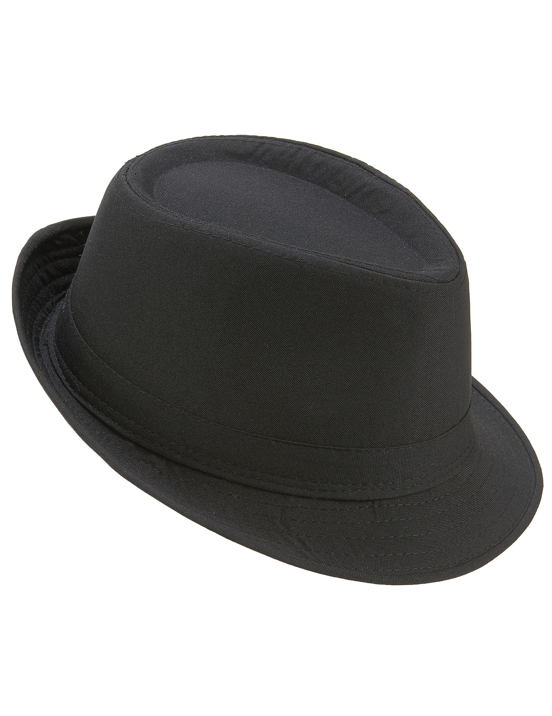 Sombrero borsalino negro adulto  Sombreros 79bfcfd5409