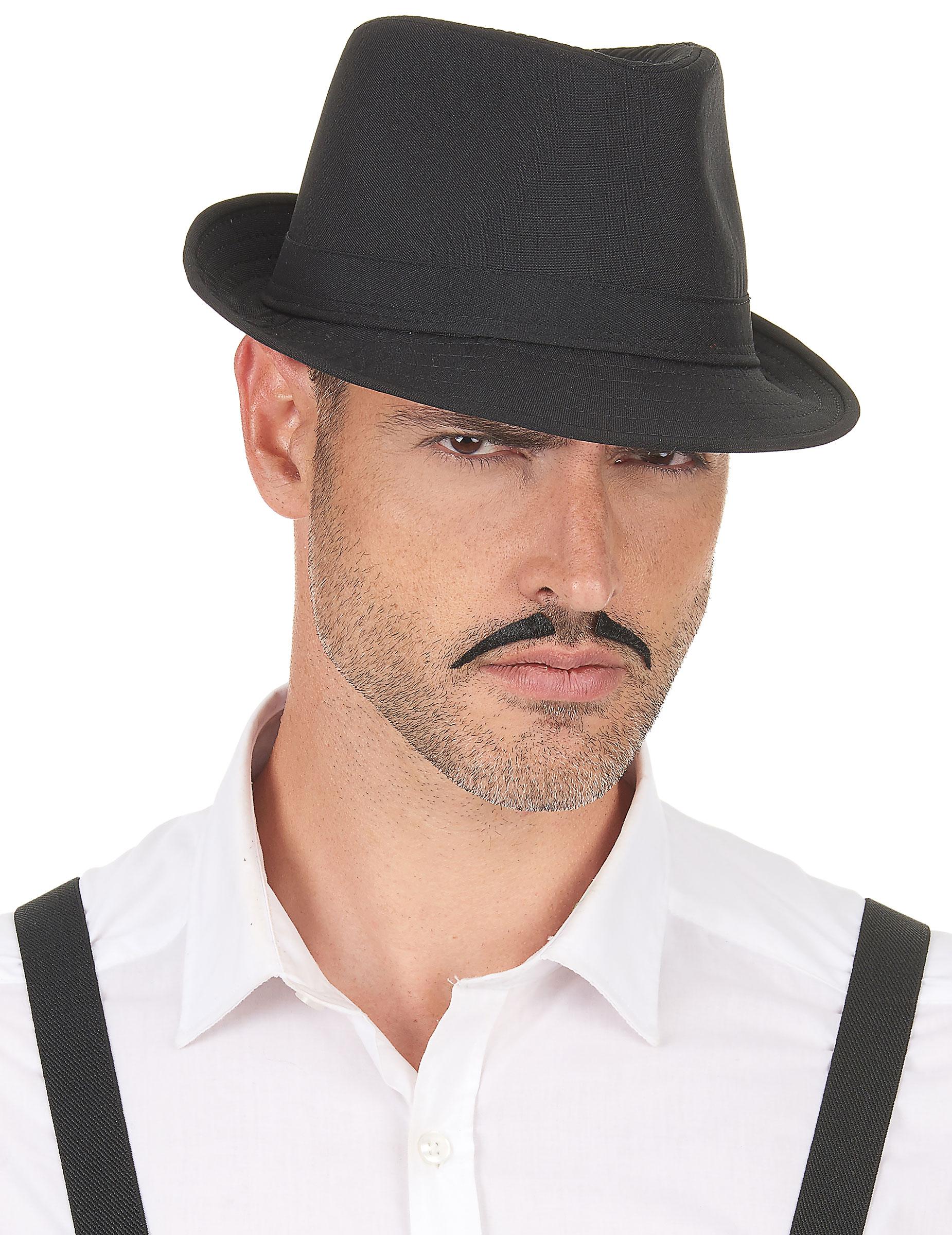 Sombrero borsalino negro adulto  Sombreros bbe76754921