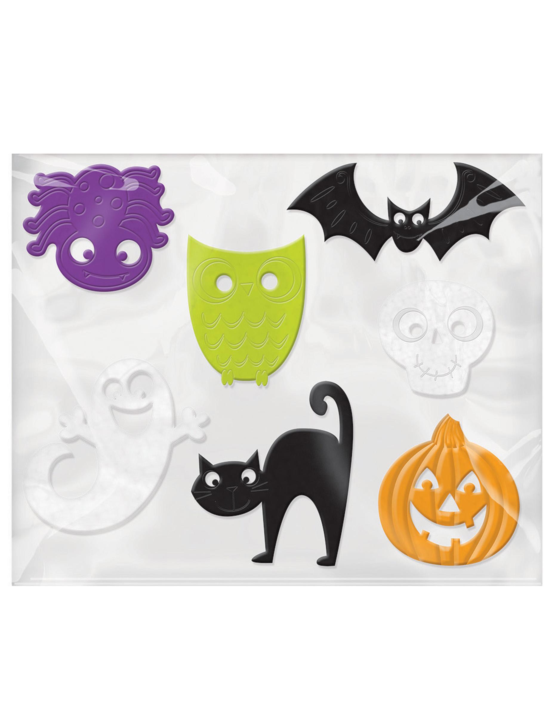 7 decoraciones para ventana halloween decoraci n y - Decoracion halloween para imprimir ...