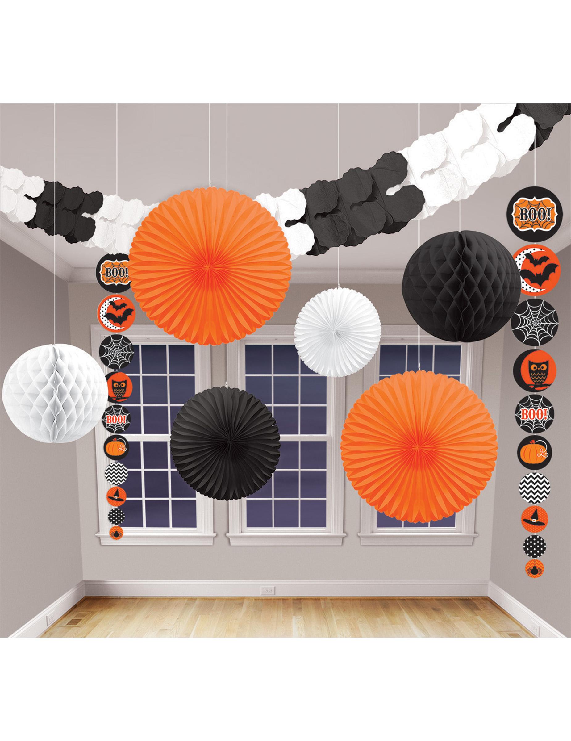 Kit de 9 decoraciones para halloween decoraci n y - Adornos de halloween ...