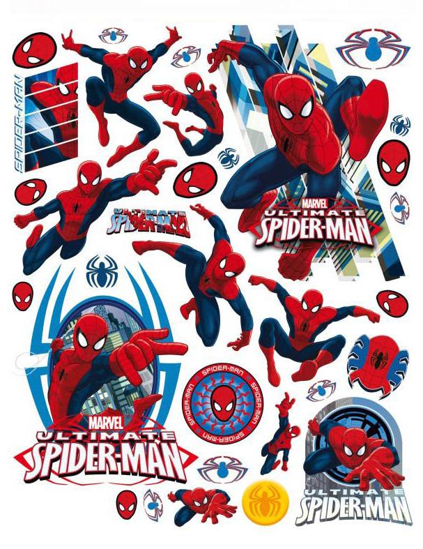 Decoración De Ventanas Spiderman 42x30 Cm