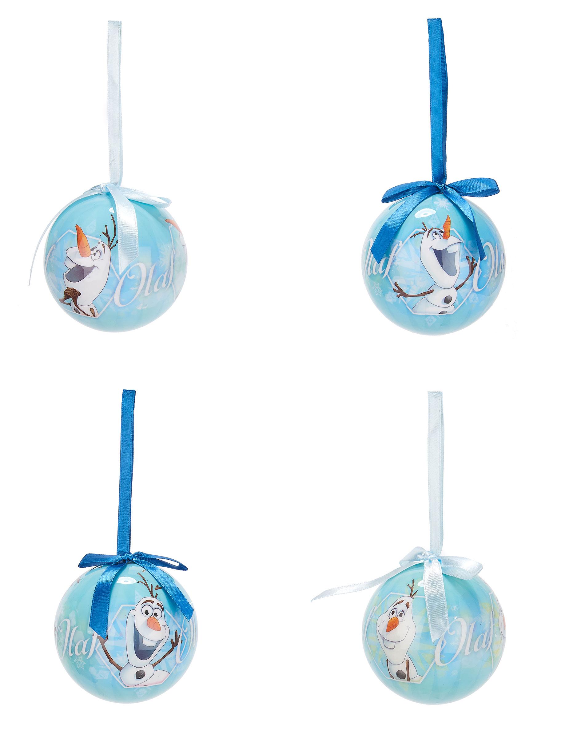 bolas de navidad olaf frozen cm