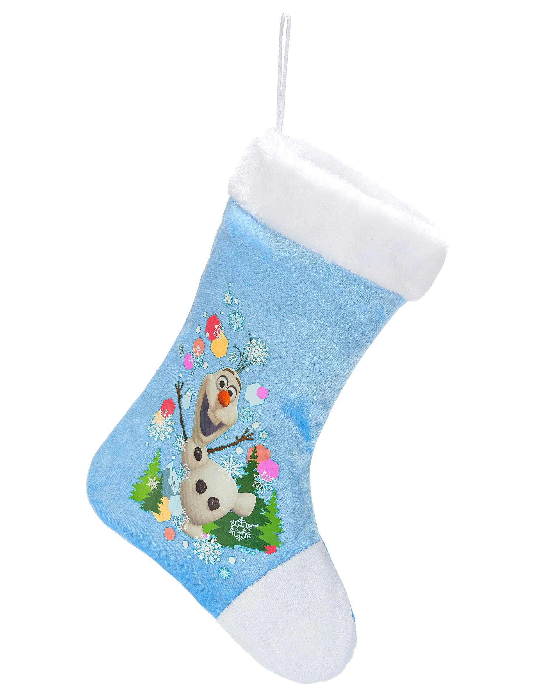 Calcet n de navidad olaf frozen decoraci n y disfraces - Calcetin de navidad ...