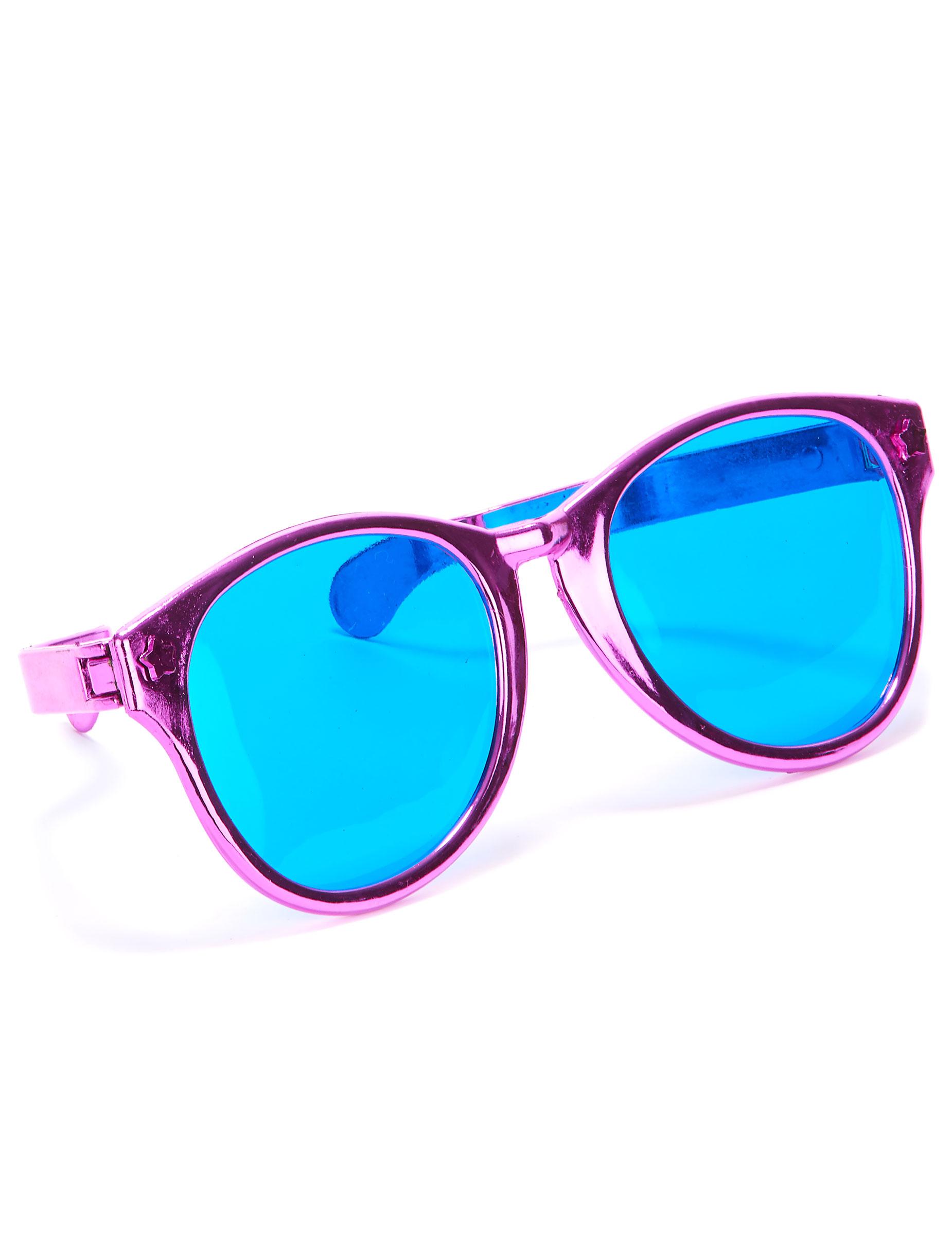Gafas gigantes adulto rosa  Accesorios 71b9c2179423