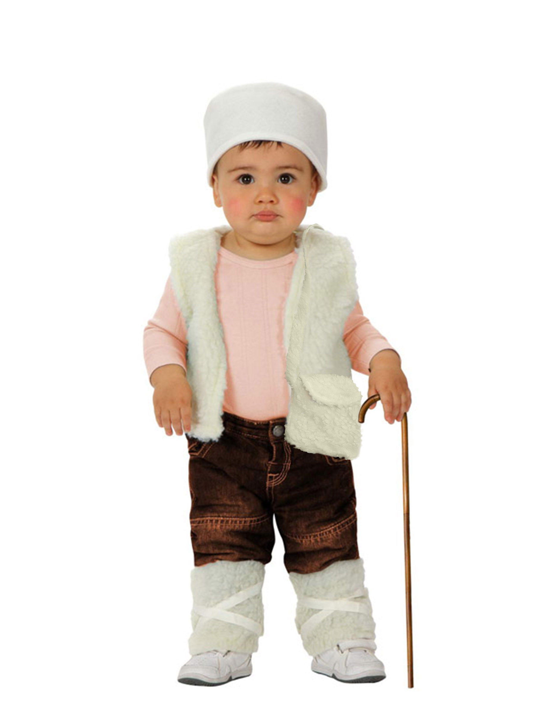 disfraz de pastor beb