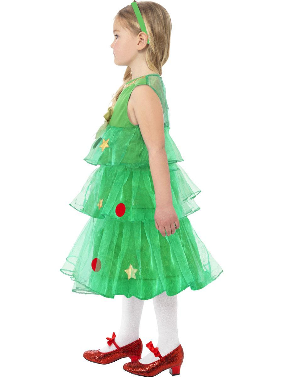 Disfraz vestido rbol de navidad ni a disfraces ni os y - Disfraz de navidad ...