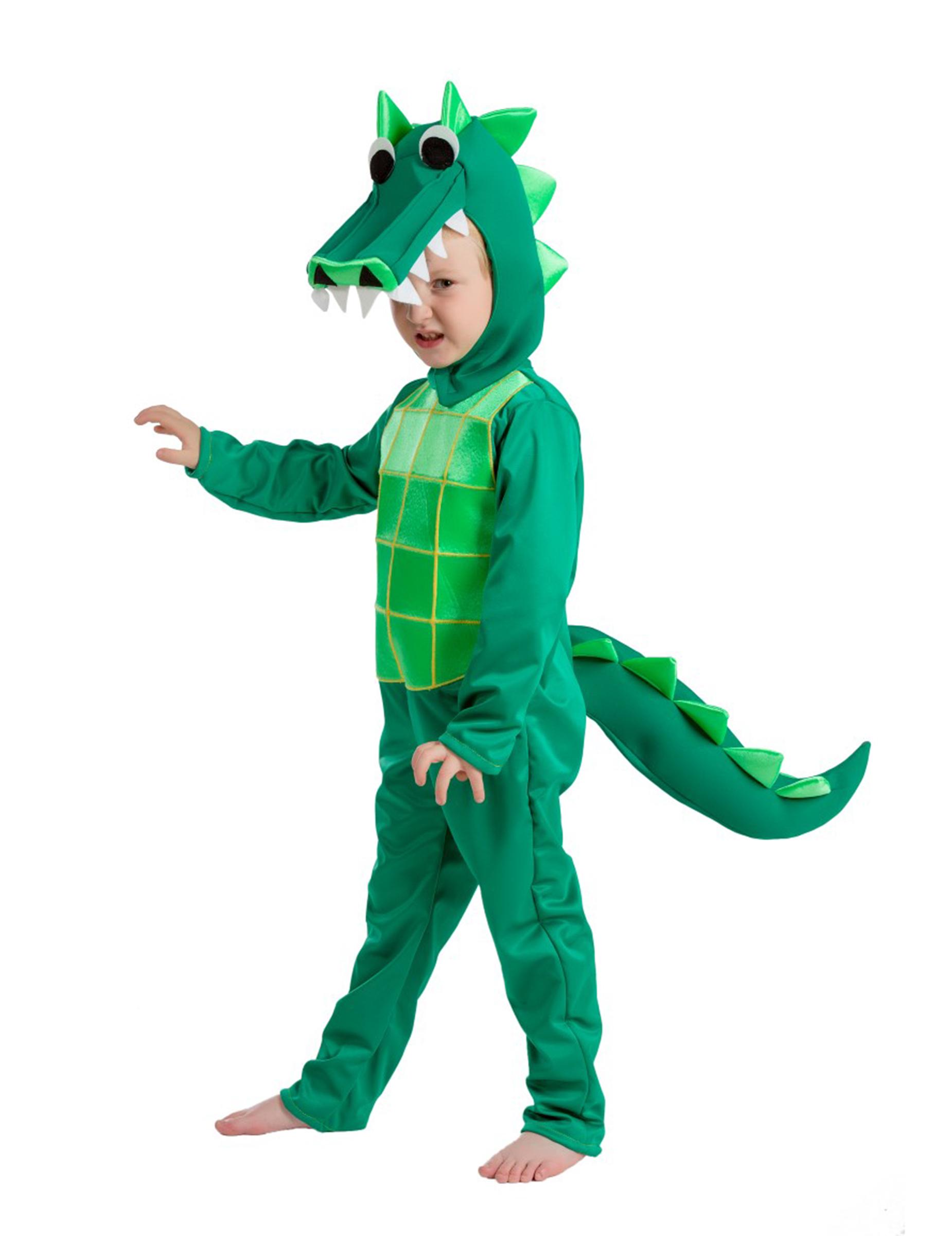 Disfraz de cocodrilo niño - Premium: Disfraces niños,y disfraces originales baratos - Vegaoo