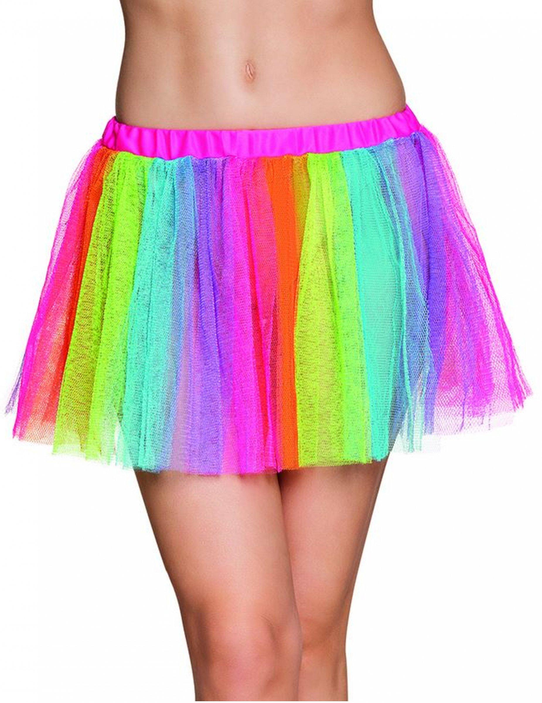 5156067fb Tutú arcoíris mujer