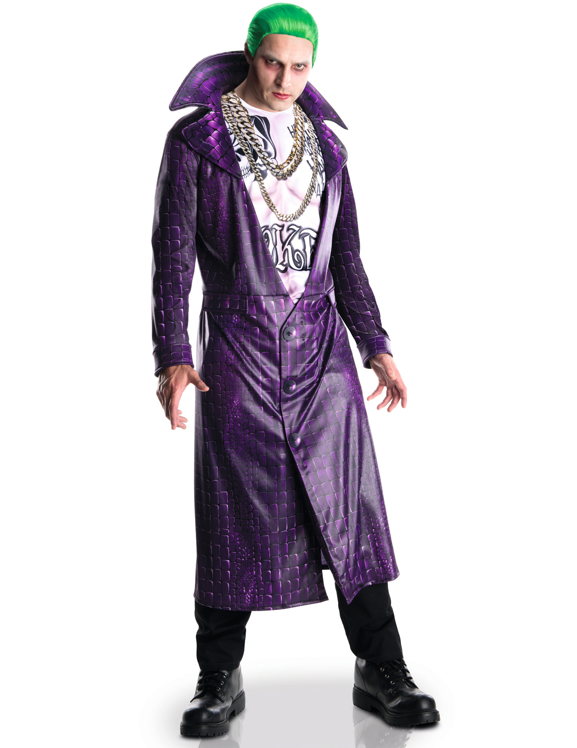 Disfraz de Joker adulto deluxe -Escuadrón Suicida™: Disfraces ...