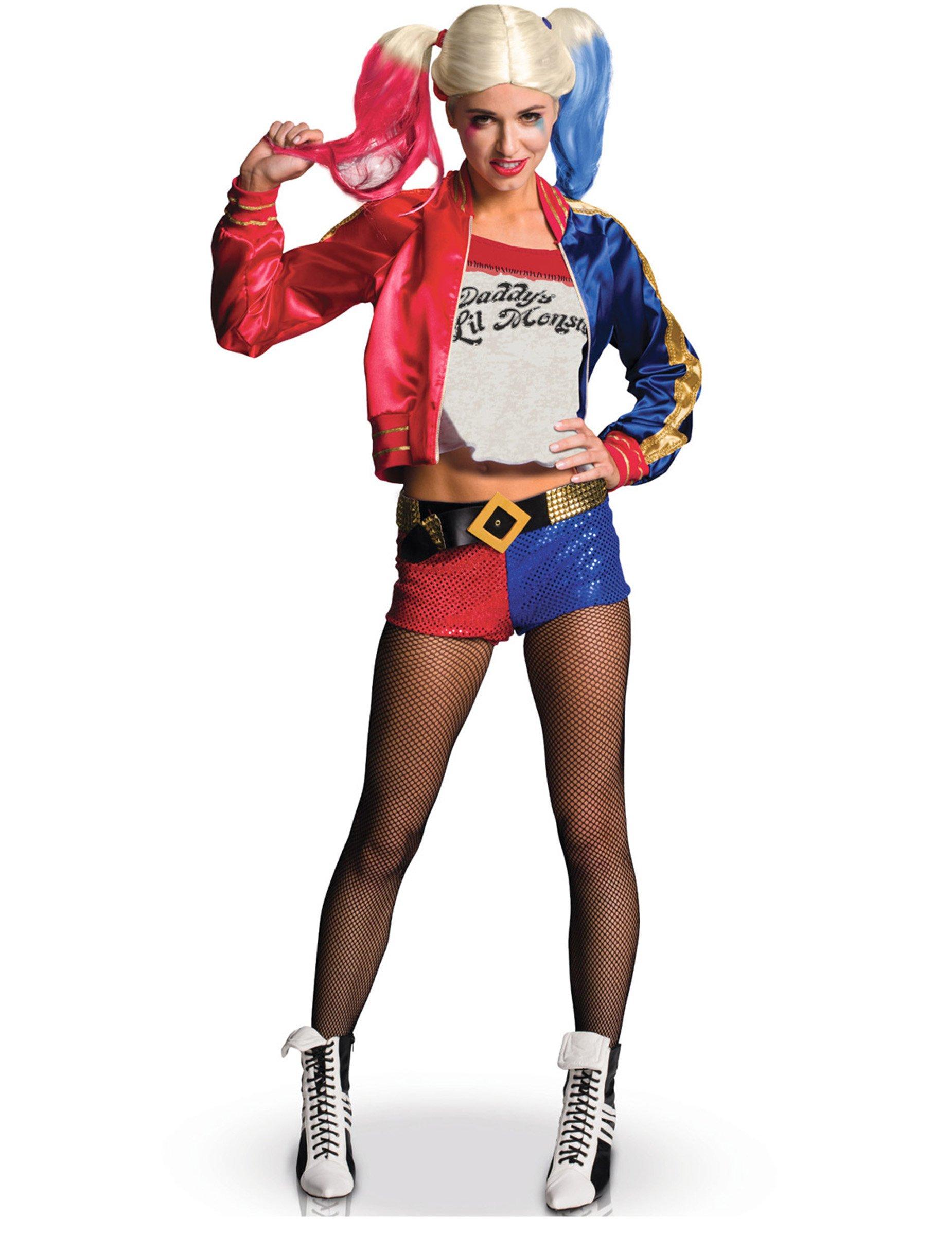 592ffa6fb Disfraz Harley Quinn adulto deluxe - Escuadrón Suicida™