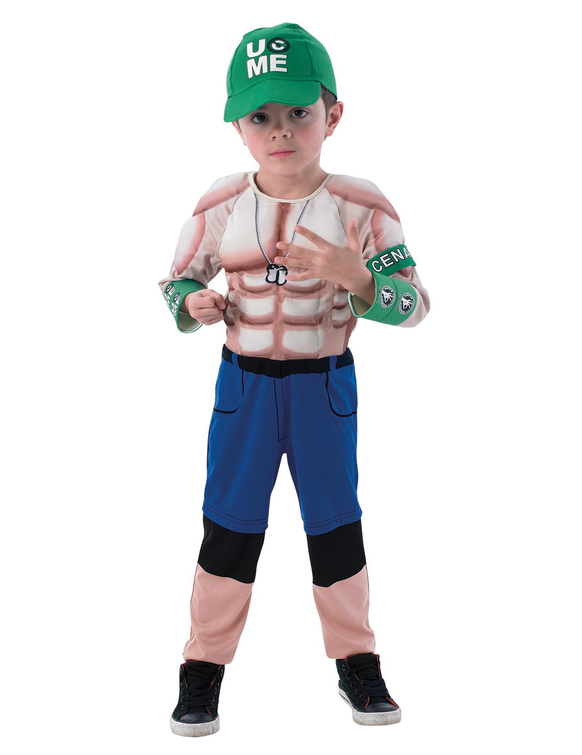 Disfraz musculoso luchador John Cena-WWE™ niño  Disfraces niños dfc32091780