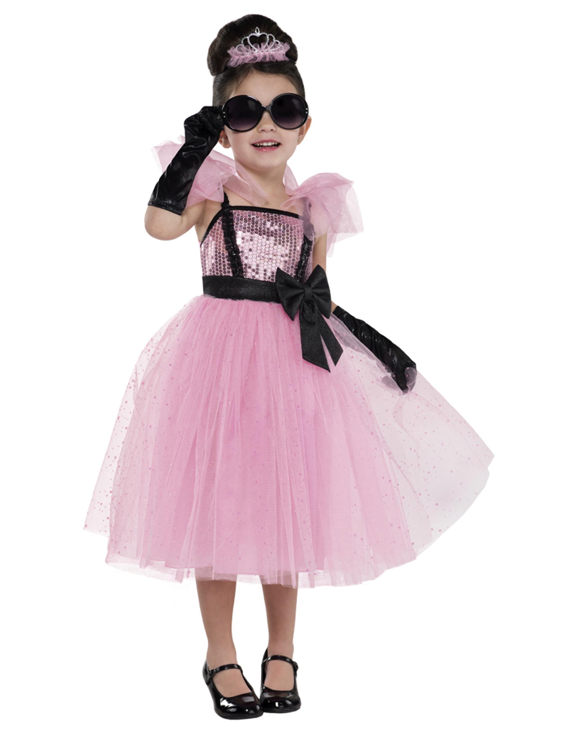 Disfraz de diva glamour rosa niña: Disfraces niños,y disfraces ...