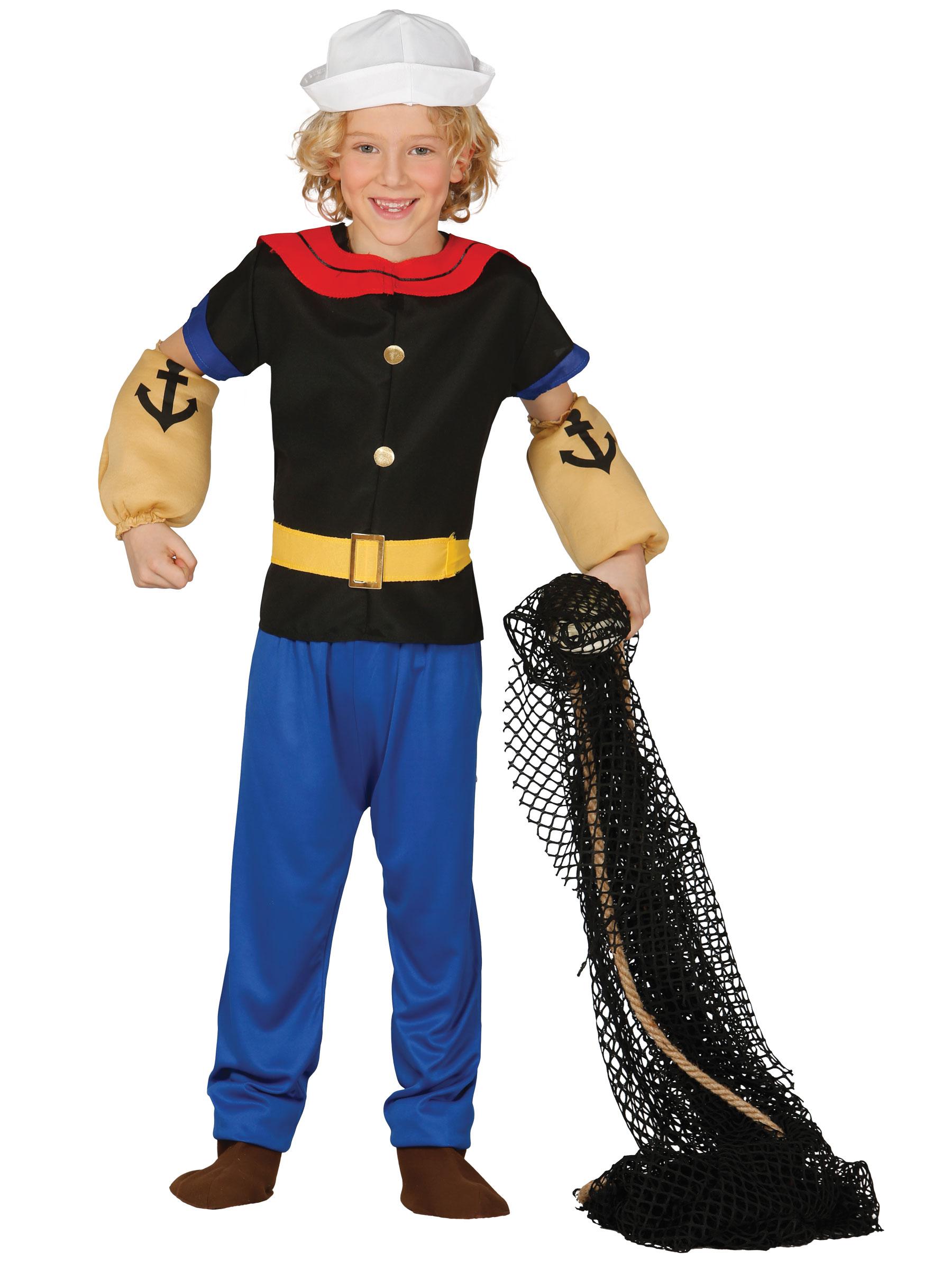 Disfraz de marinero musculoso ni o disfraces ni os y - Disfraz de marinero casero ...