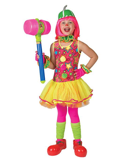 Disfraz de payaso estrellas multicolor ni a disfraces - Disfraces para bebes nina ...
