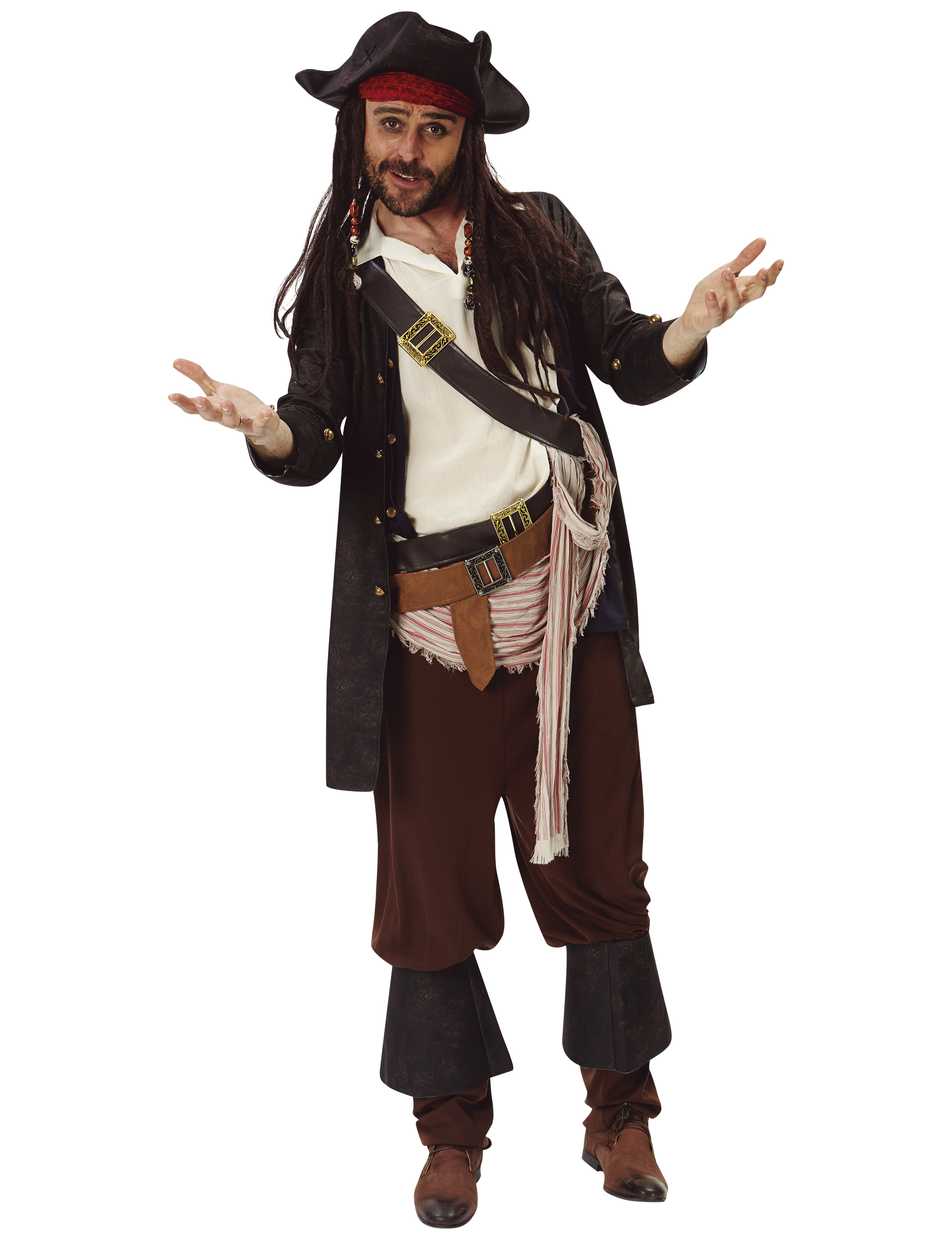 8307511ae2d5e Disfraz Jack Sparrow™ - Piratas del Caribe™  Disfraces adultos